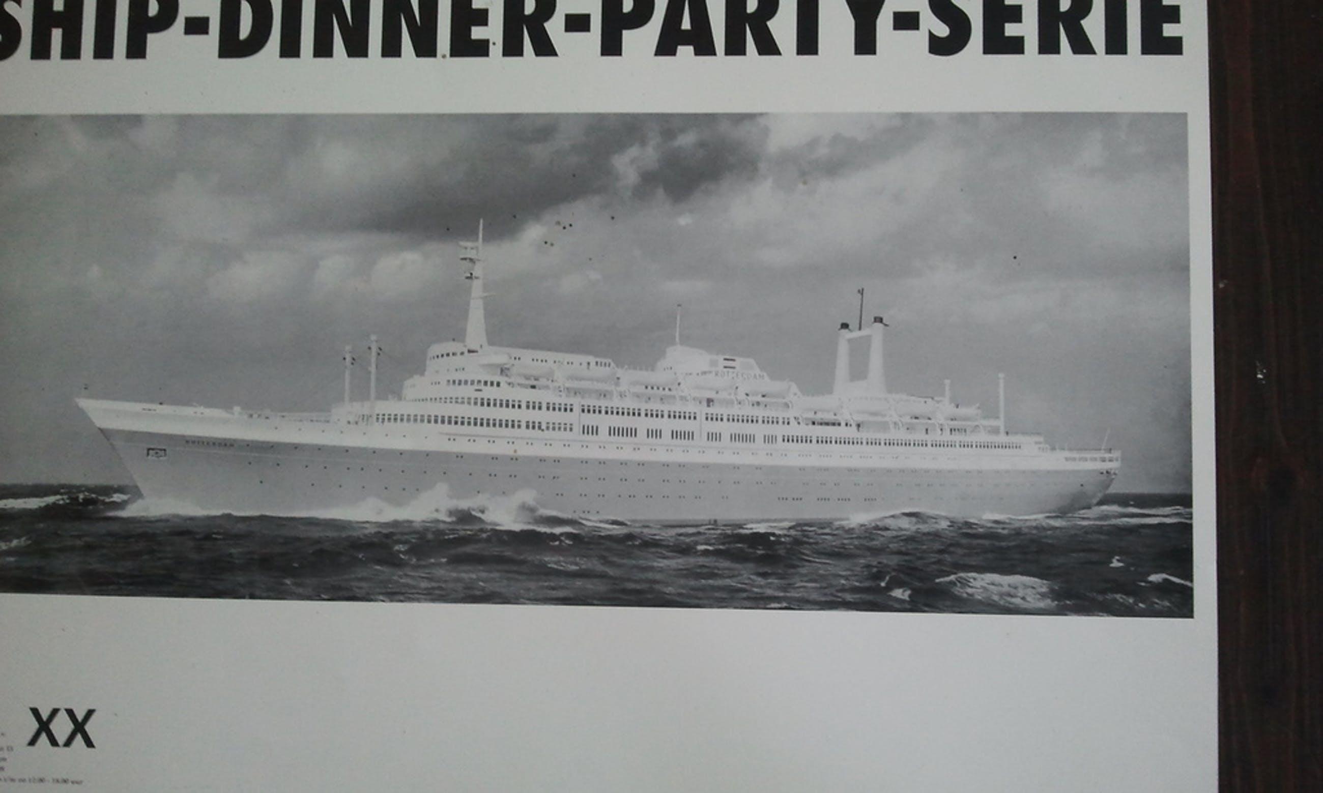 Olphaert de Otter: Ship Dinner party print kopen? Bied vanaf 1!