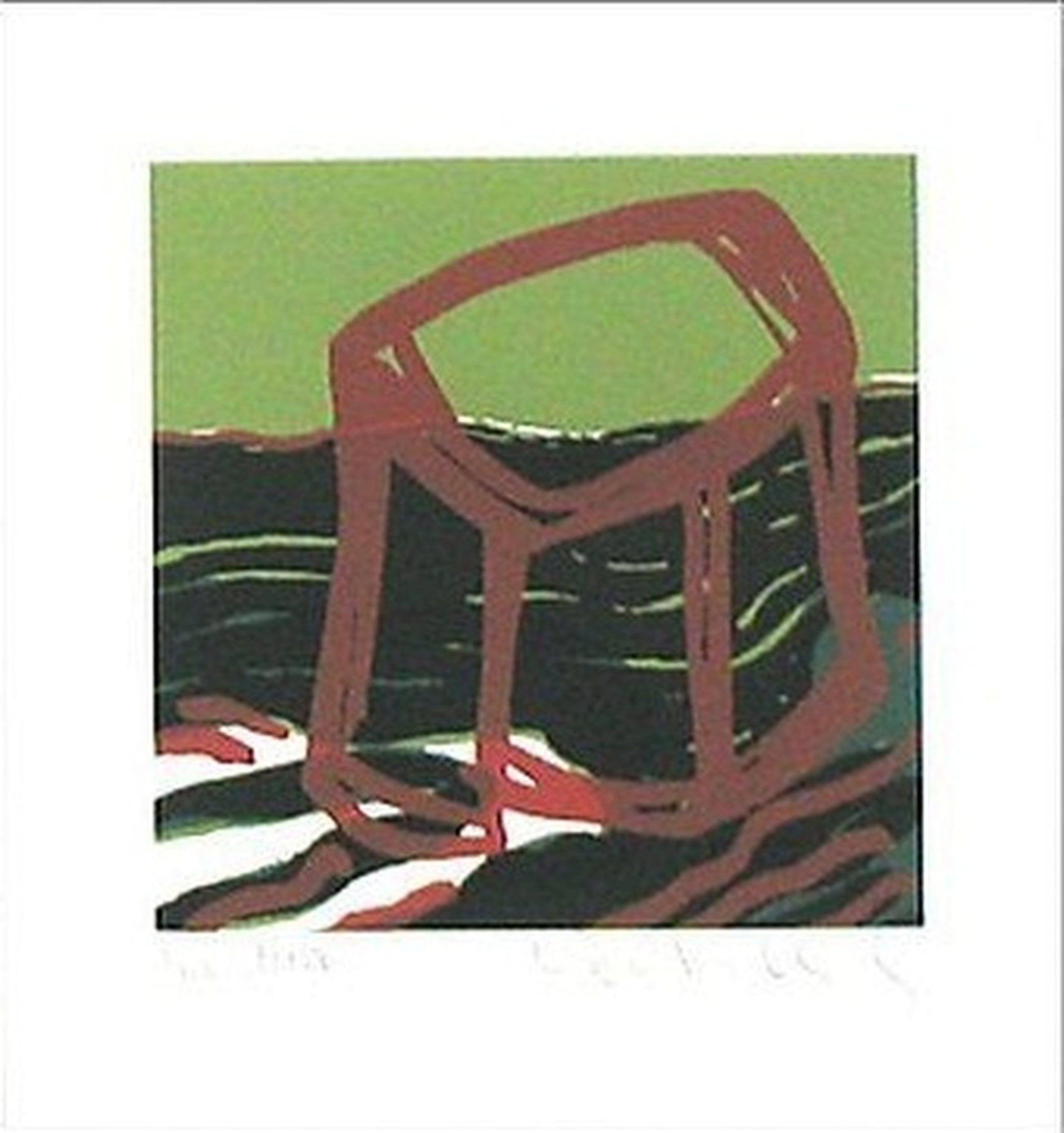 Rafael Tur Costa e.a: Lot van vier lithografien, Abstracte Composities kopen? Bied vanaf 15!