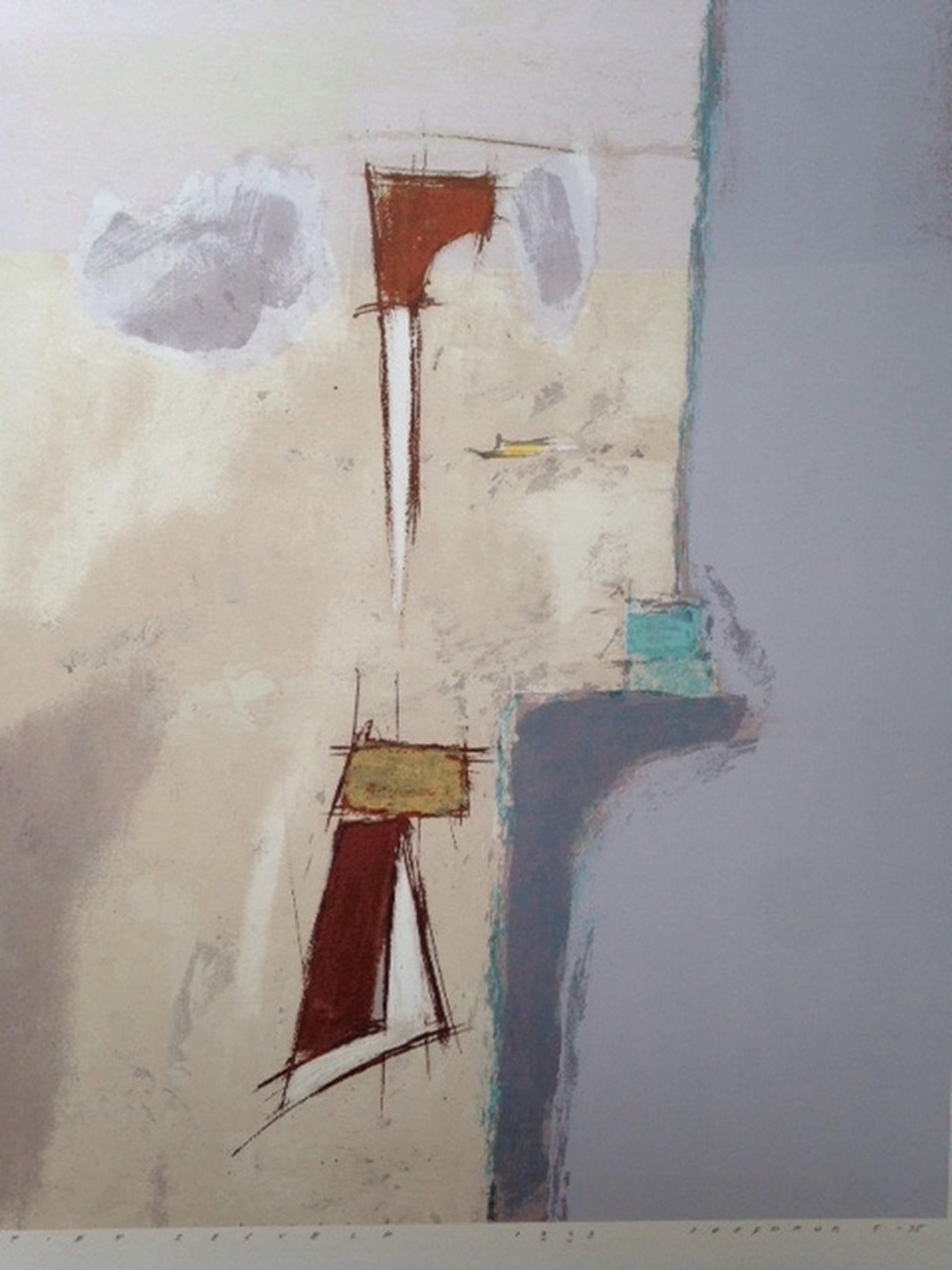 Piet Zegveld, zeefdruk uit 1993 (73x55) kopen? Bied vanaf 50!