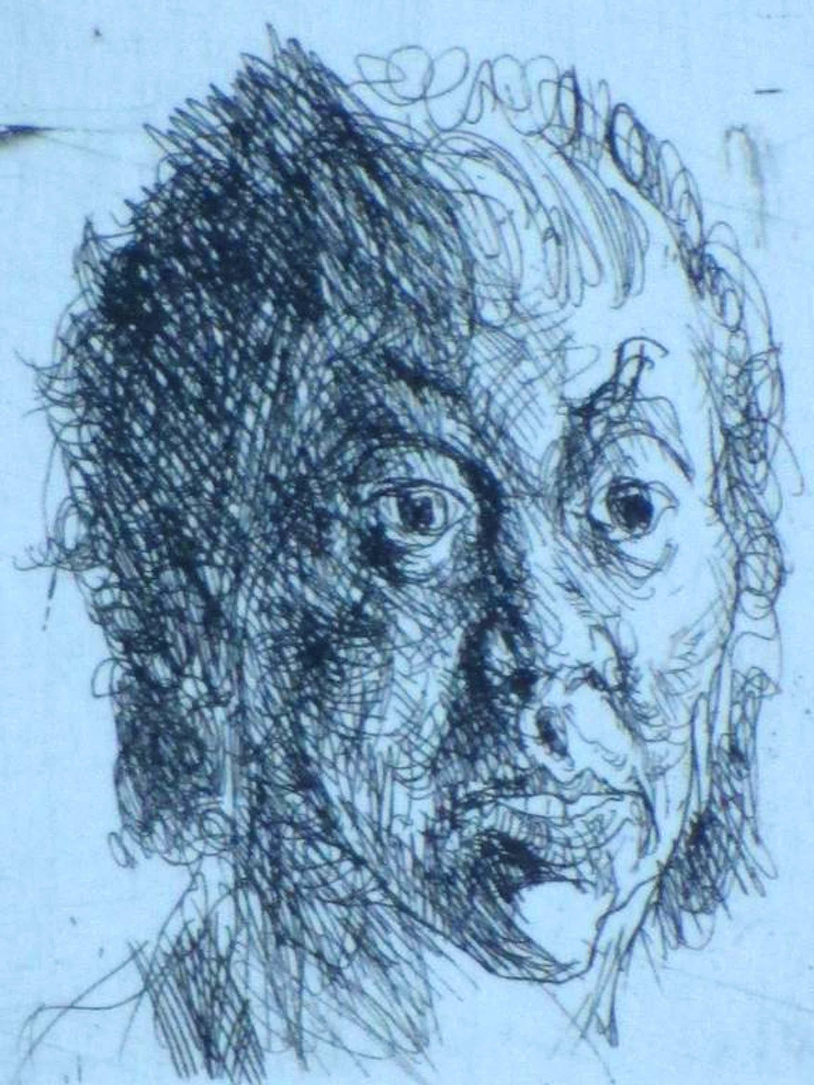 Jan Mensinga, Mansportret, Ets kopen? Bied vanaf 35!