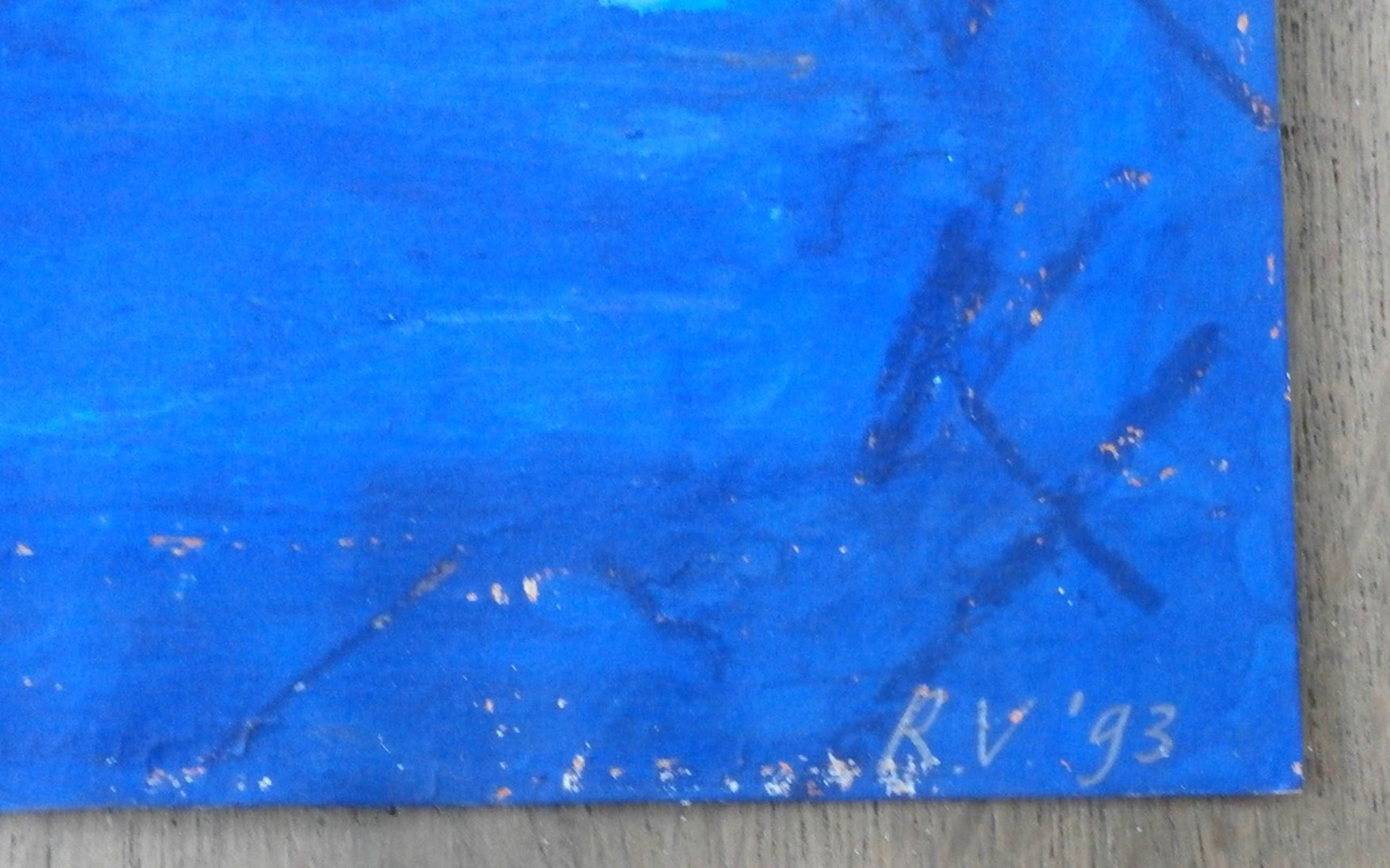 Ron van de Ven - abstracte gouache - 1993 kopen? Bied vanaf 25!