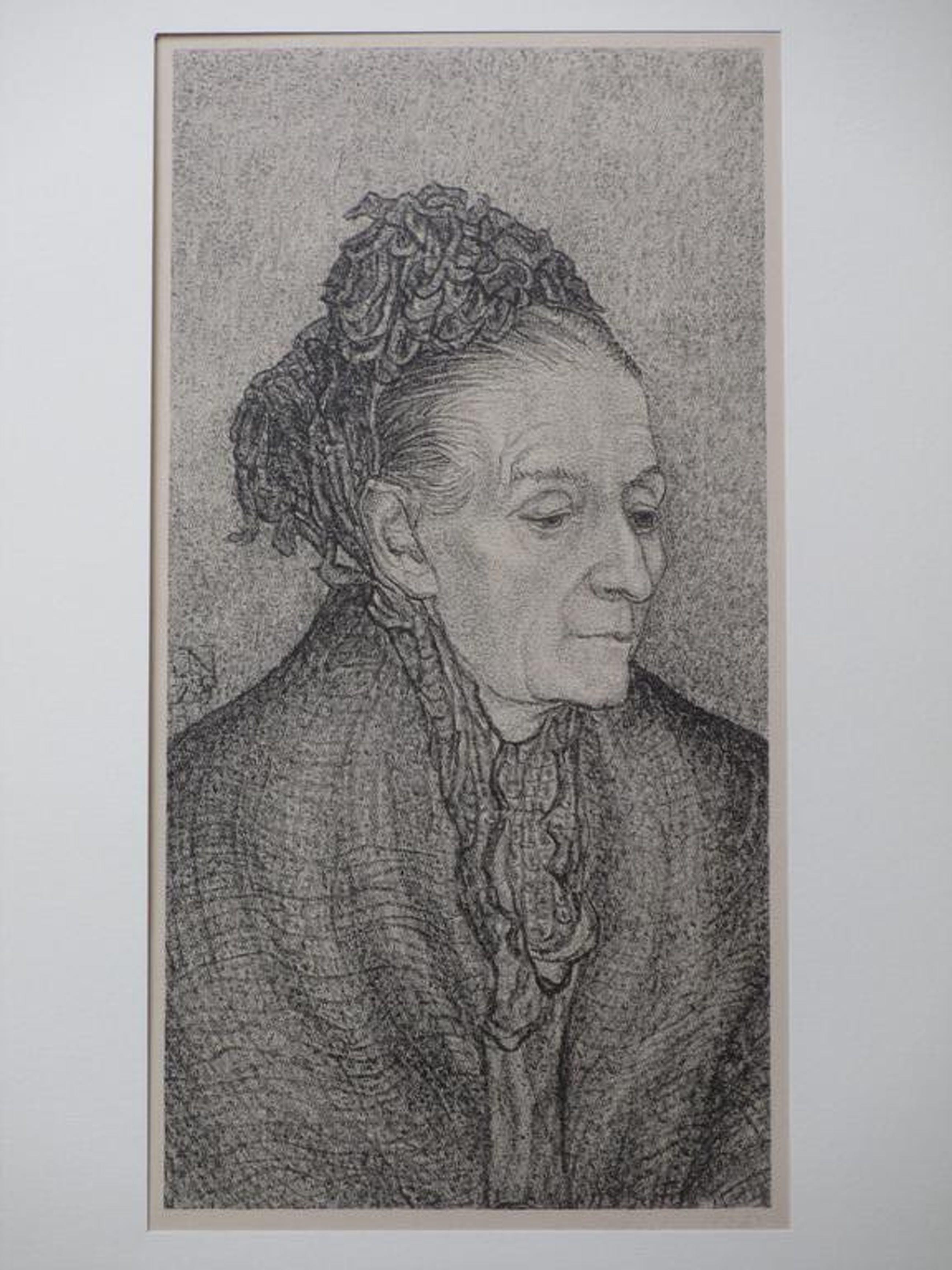Jacob Nieweg, Litho, Vrouwportret kopen? Bied vanaf 45!
