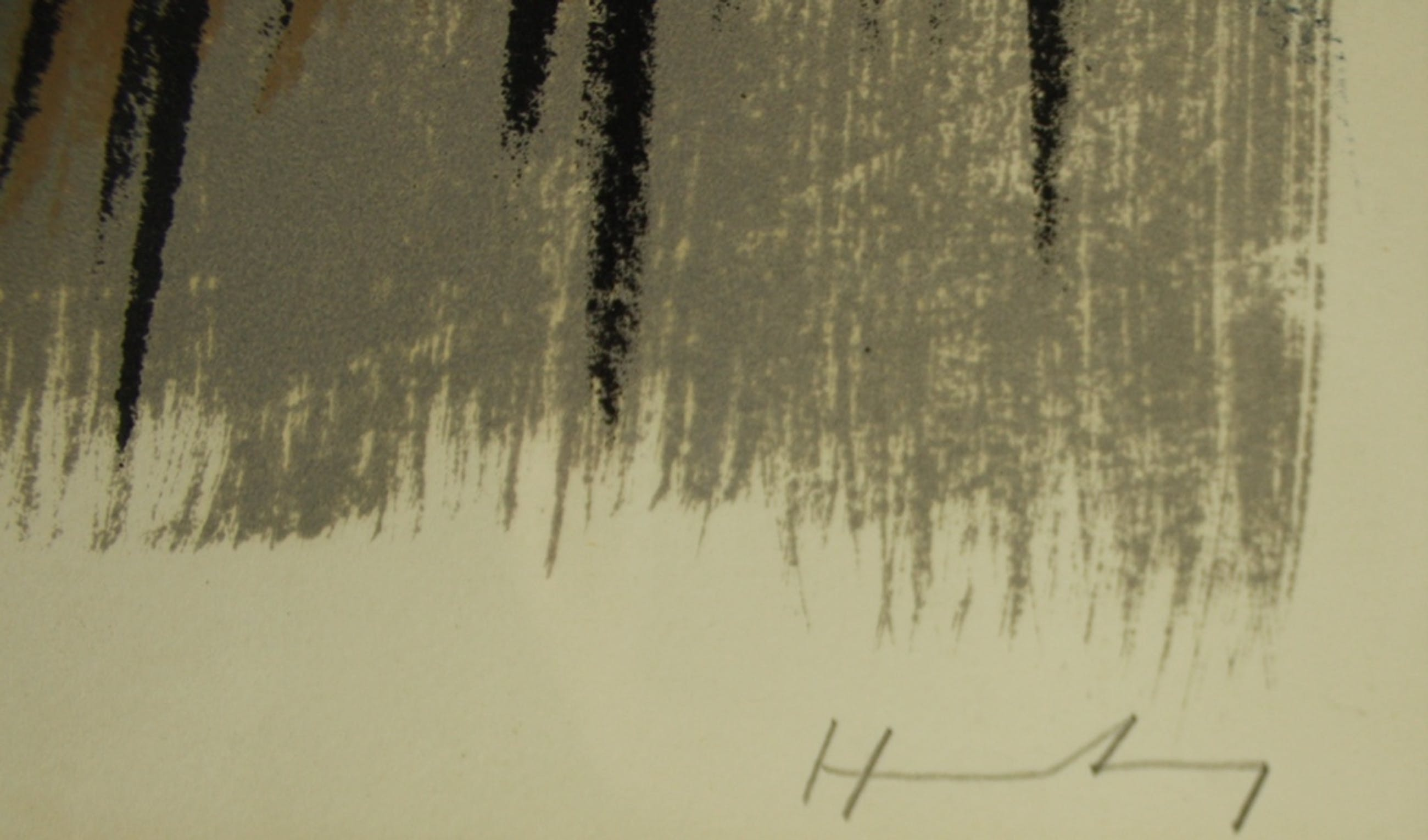 Hans Hartung, kleurenlitho, 'L 11', 1957 kopen? Bied vanaf 899!