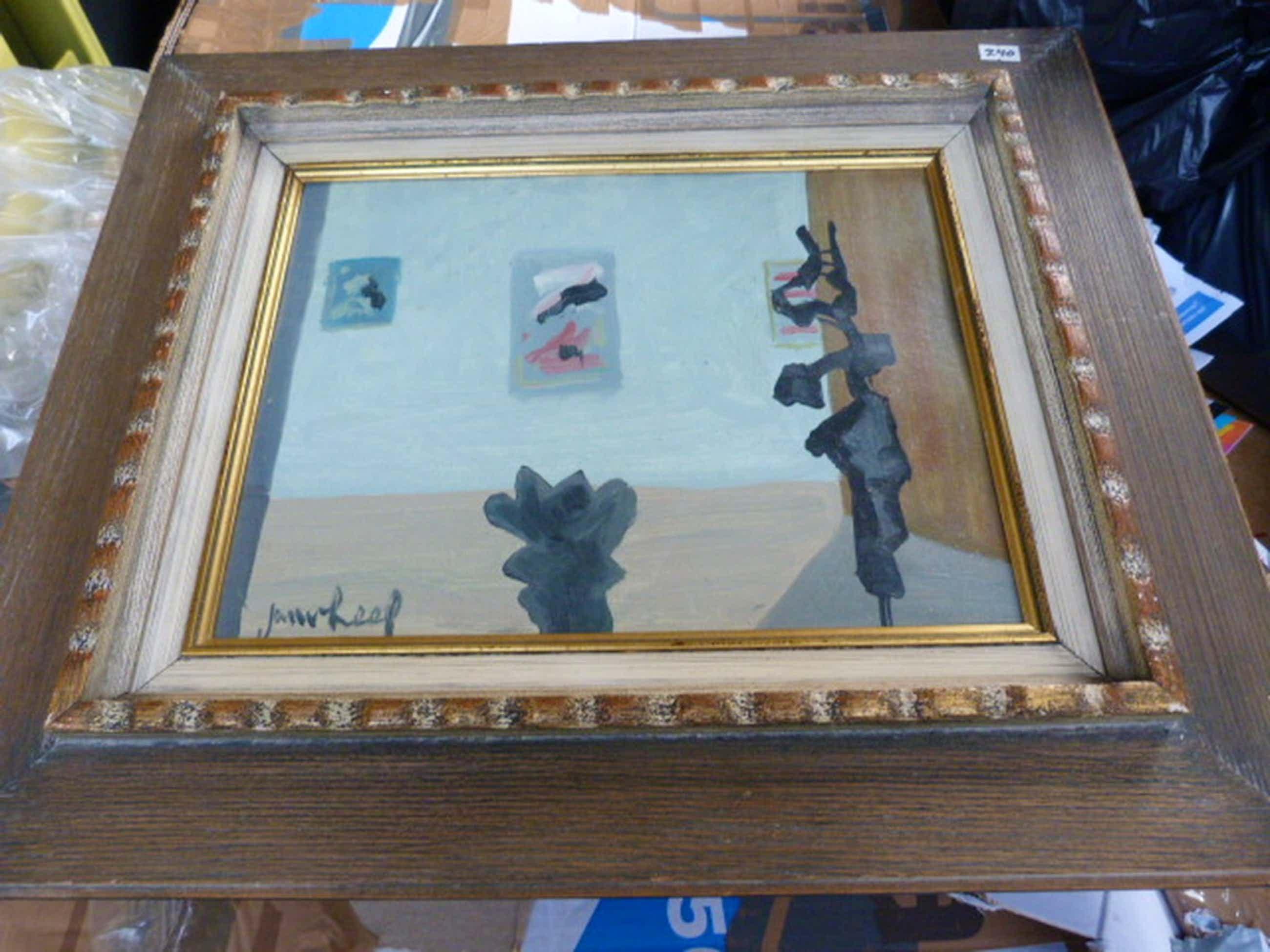 Olieverf op schilderskarton - gesigneerd. kopen? Bied vanaf 135!