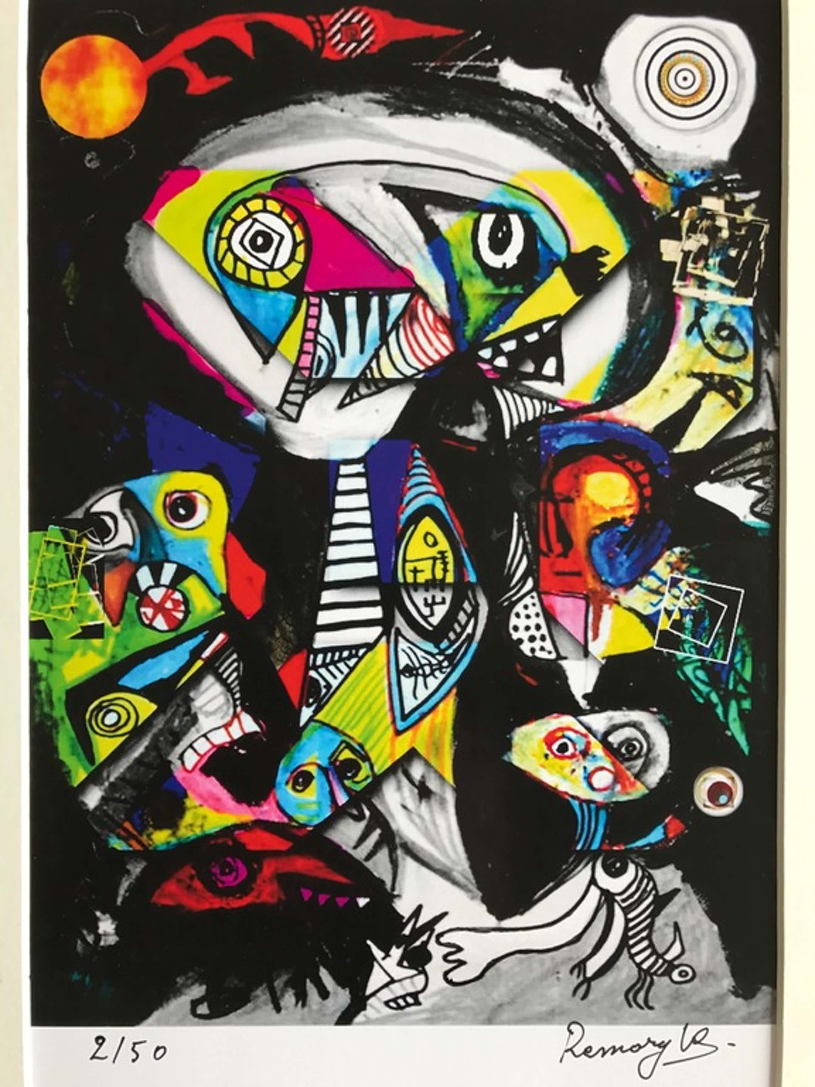 William Remory - Art Print - Gesigneerd - Oplage van 50 kopen? Bied vanaf 45!