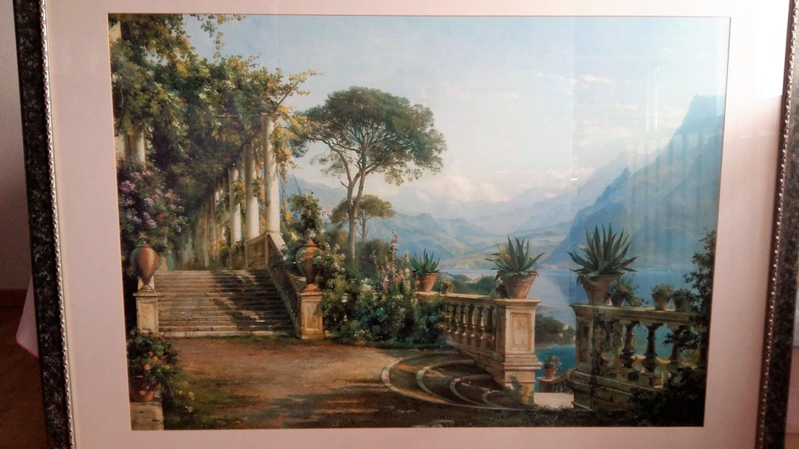 Logde.On Lake Como. Van Carl Fredrik Aagard kopen? Bied vanaf 50!