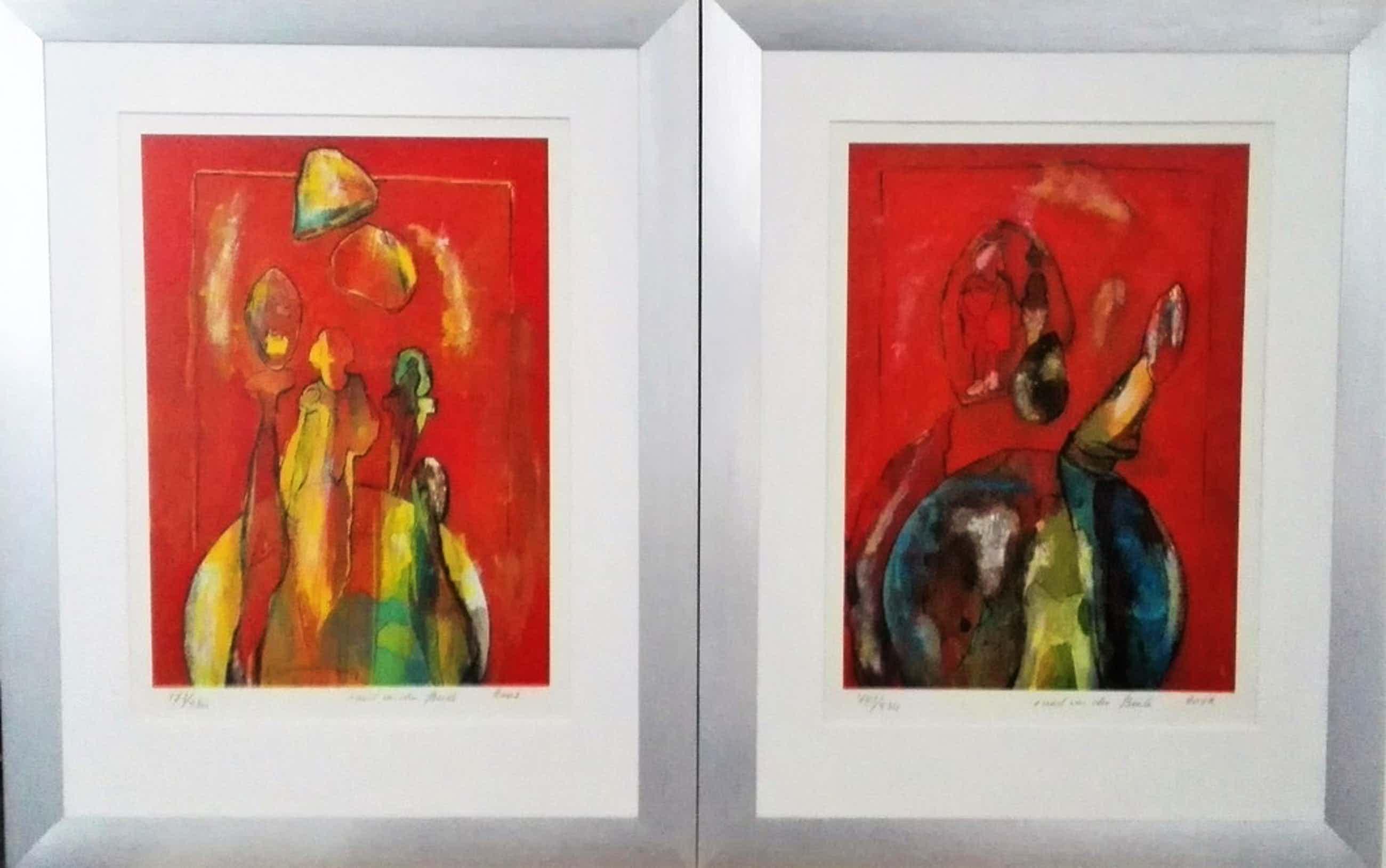 Ruud van der Beele - Kleurrijk tweeluik Ruud van der Beele kopen? Bied vanaf 99!