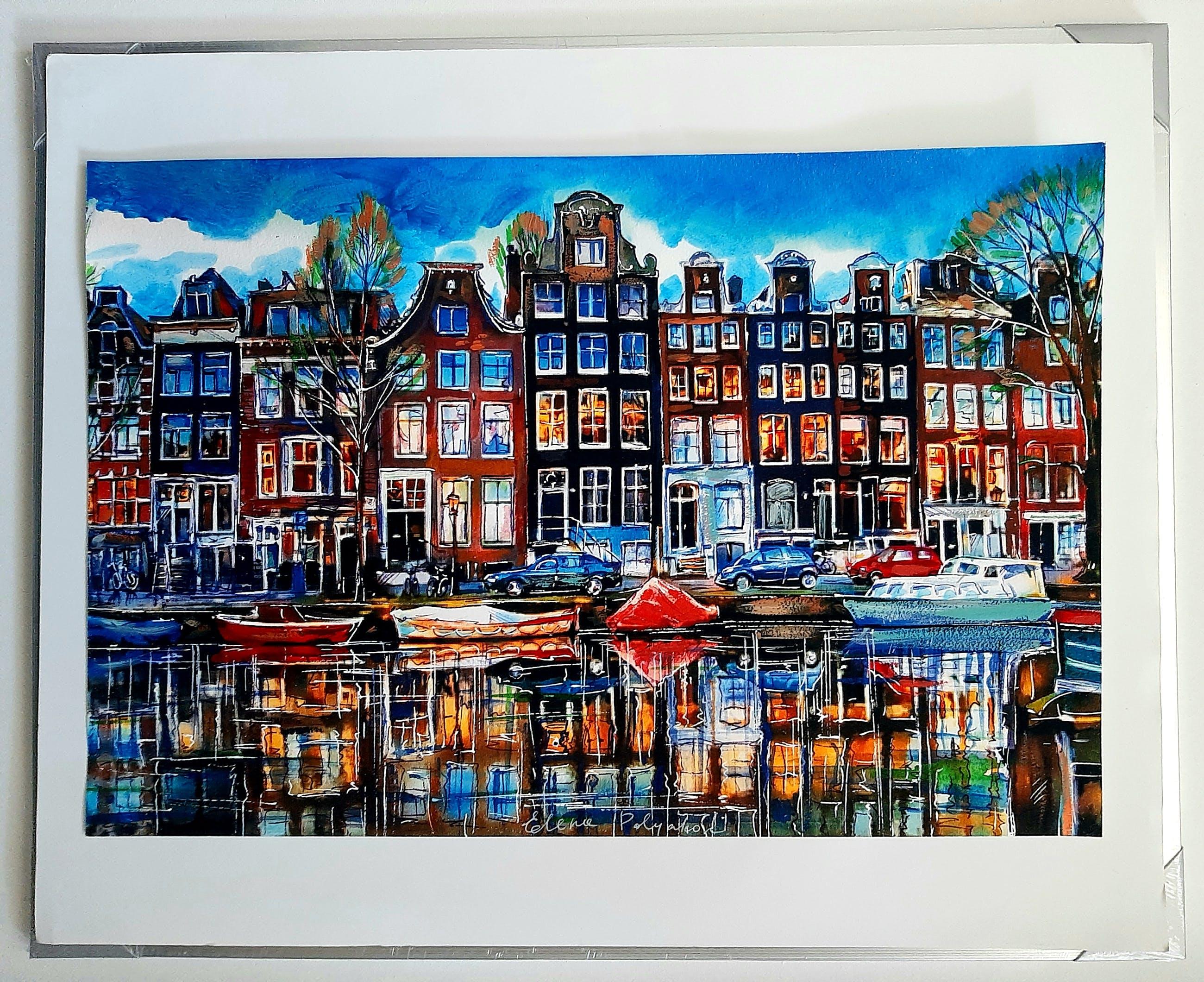 Elena Polyakova - Een gracht in Amsterdam kopen? Bied vanaf 60!