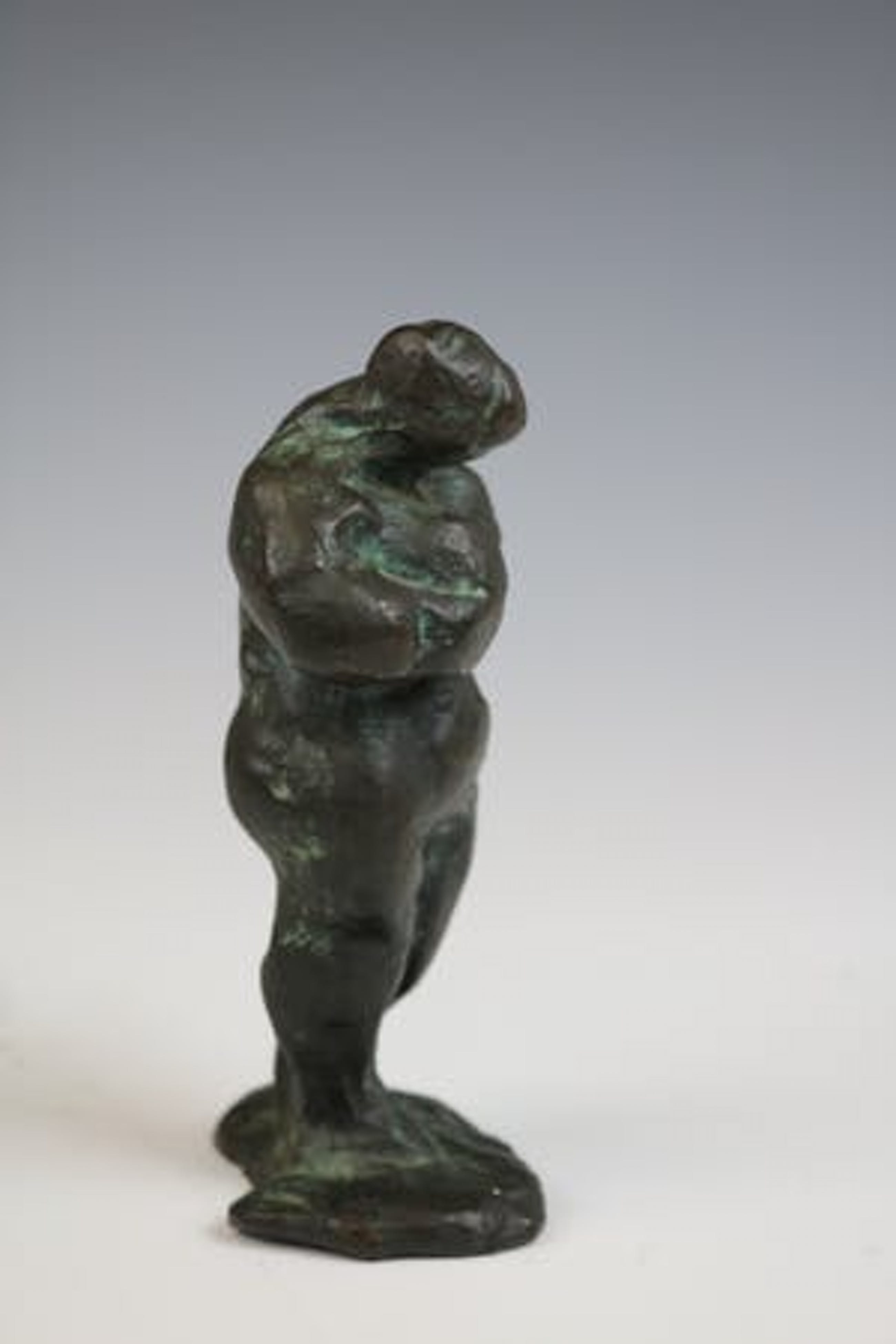 Nic Jonk - brons beeld: vrouwelijk naakt kopen? Bied vanaf 795!