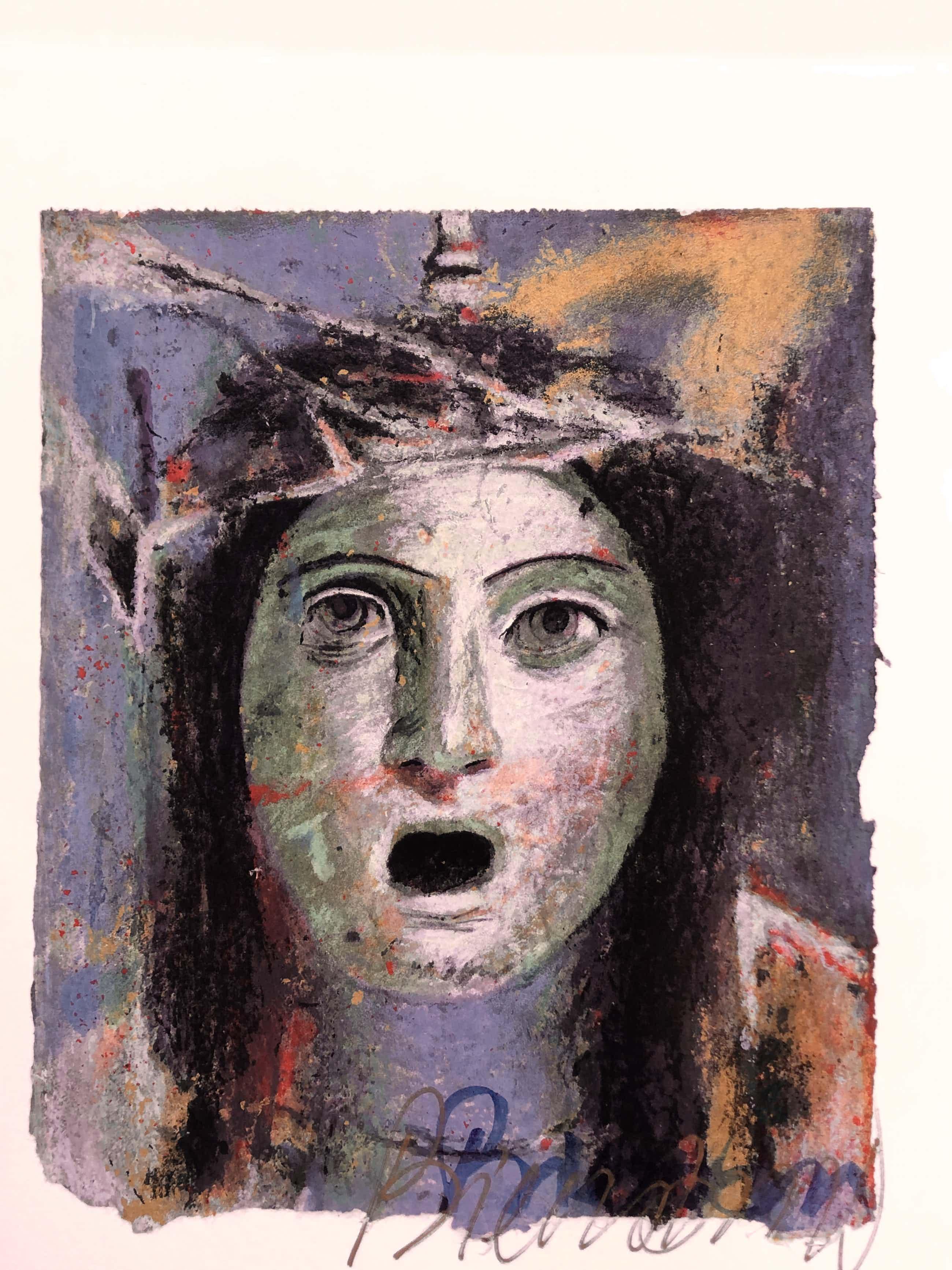 Gerti Bierenbroodspot - portret 'her' kopen? Bied vanaf 70!