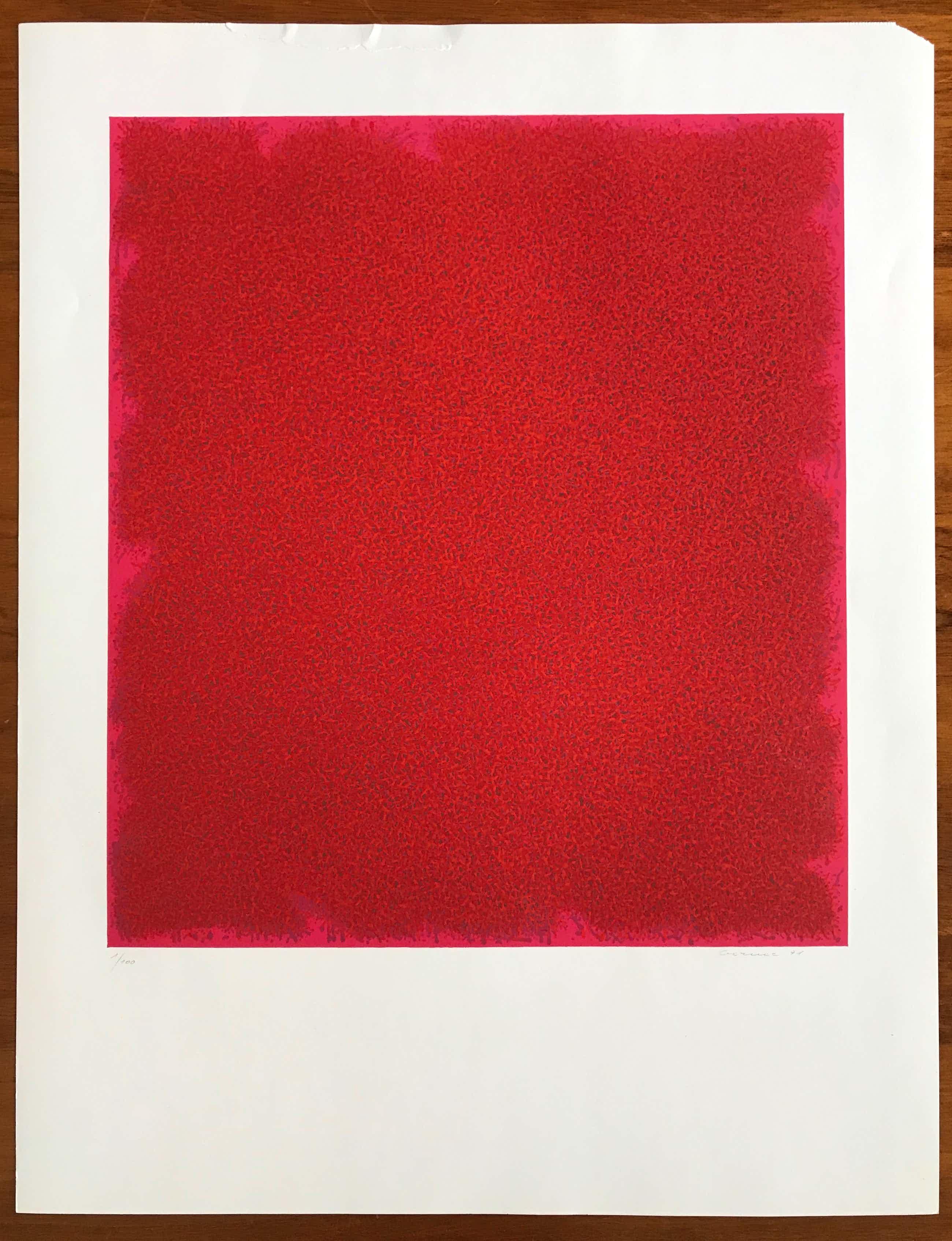 Bernd Berner - Gesigneerde kleurenlithografie - 1971 - 1/100 kopen? Bied vanaf 115!