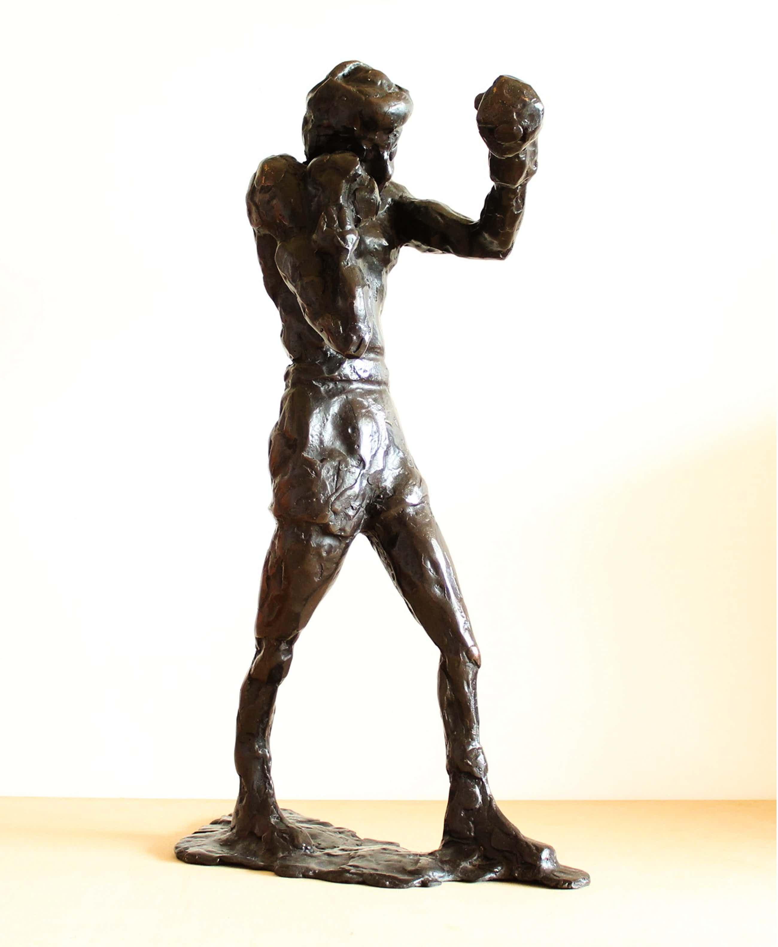 Theo Mackaay - Bronzen beeld: Boxer, 2006 kopen? Bied vanaf 1125!