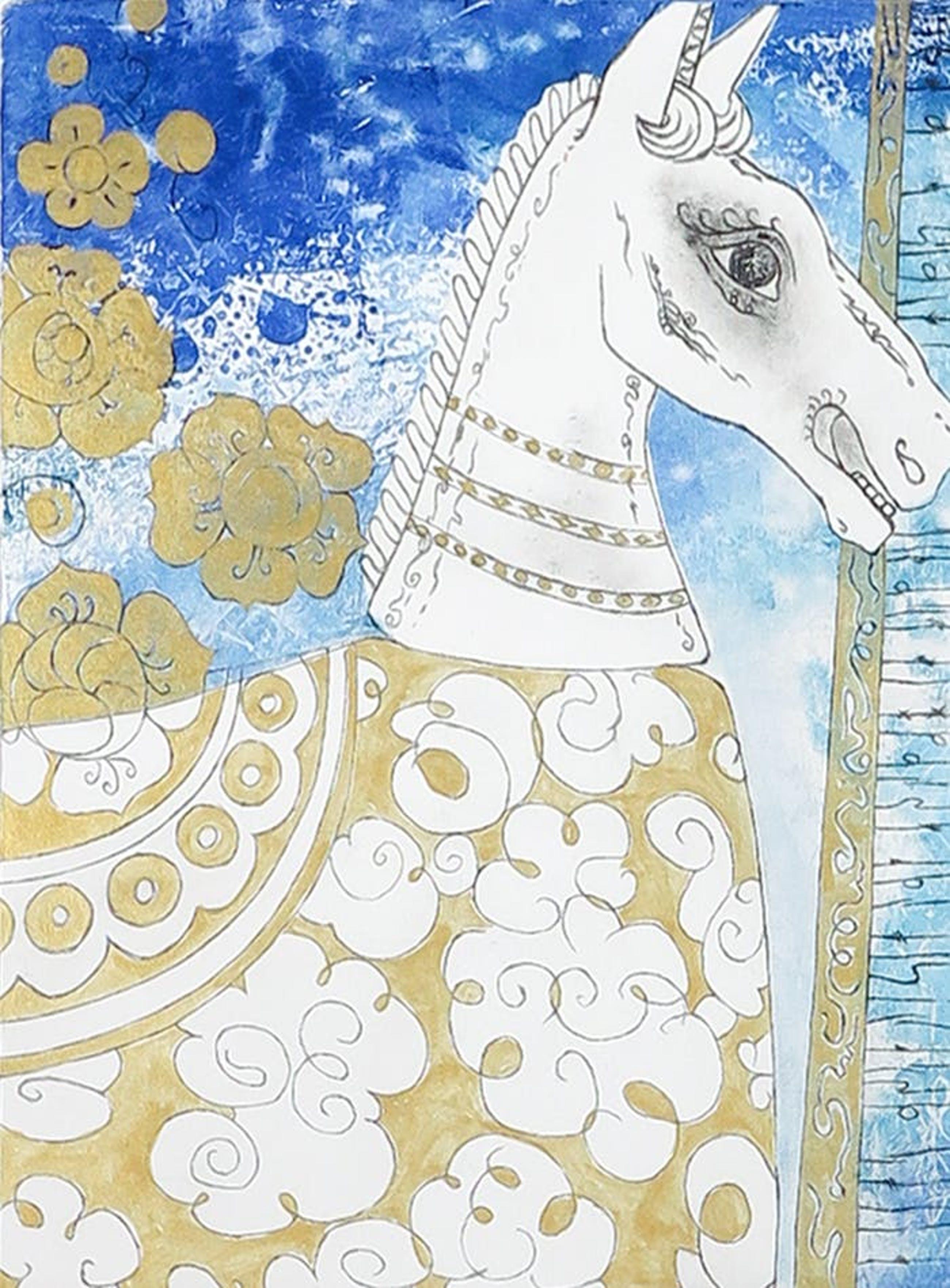 Armien Visser - Ets, Paard uit Xi'an kopen? Bied vanaf 1!