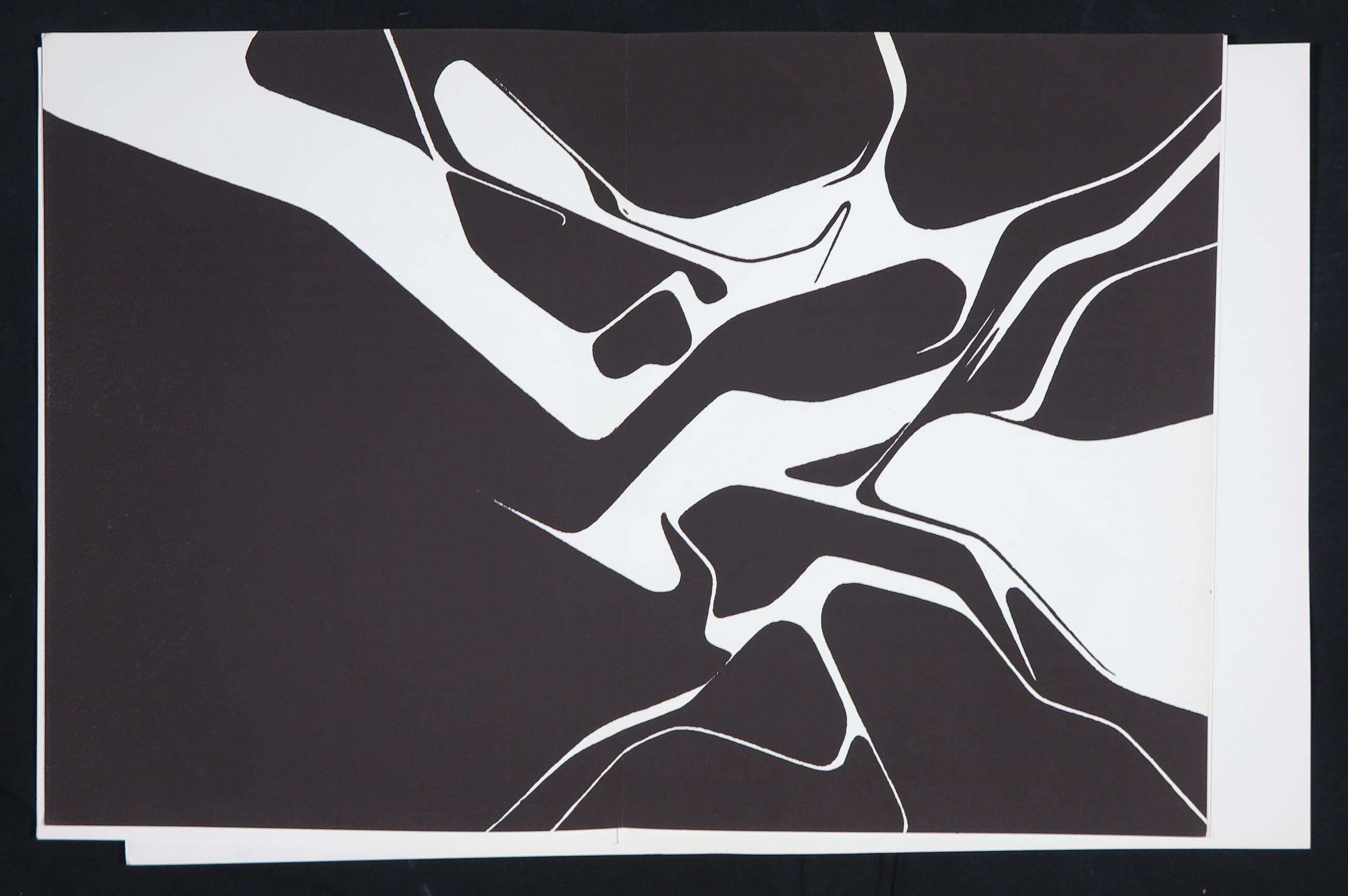 Pablo Palazuelo - Uitgave Derrière le miroir met originele litho's, no. 137 (1963) kopen? Bied vanaf 80!
