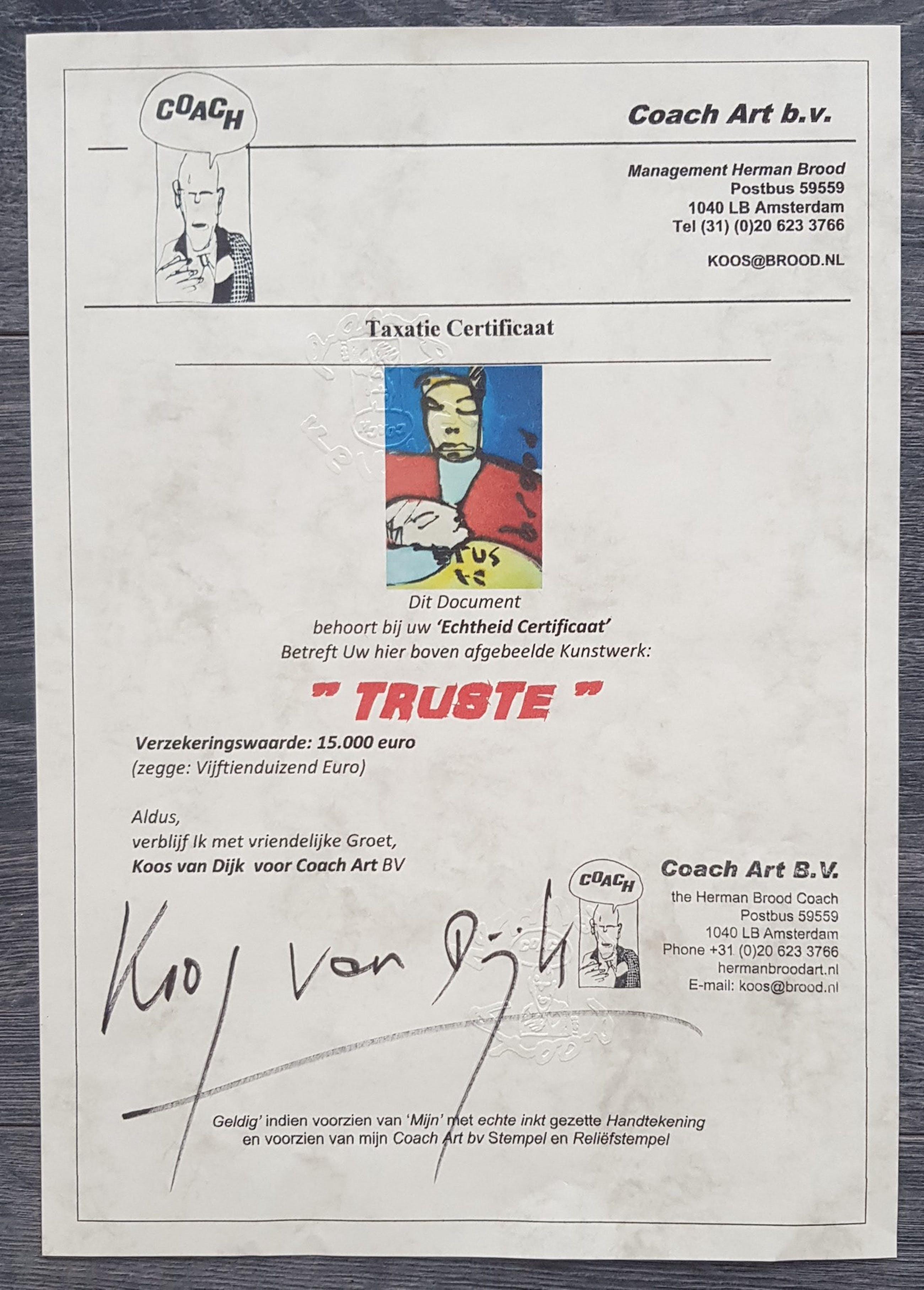 Herman Brood - Truste kopen? Bied vanaf 3950!