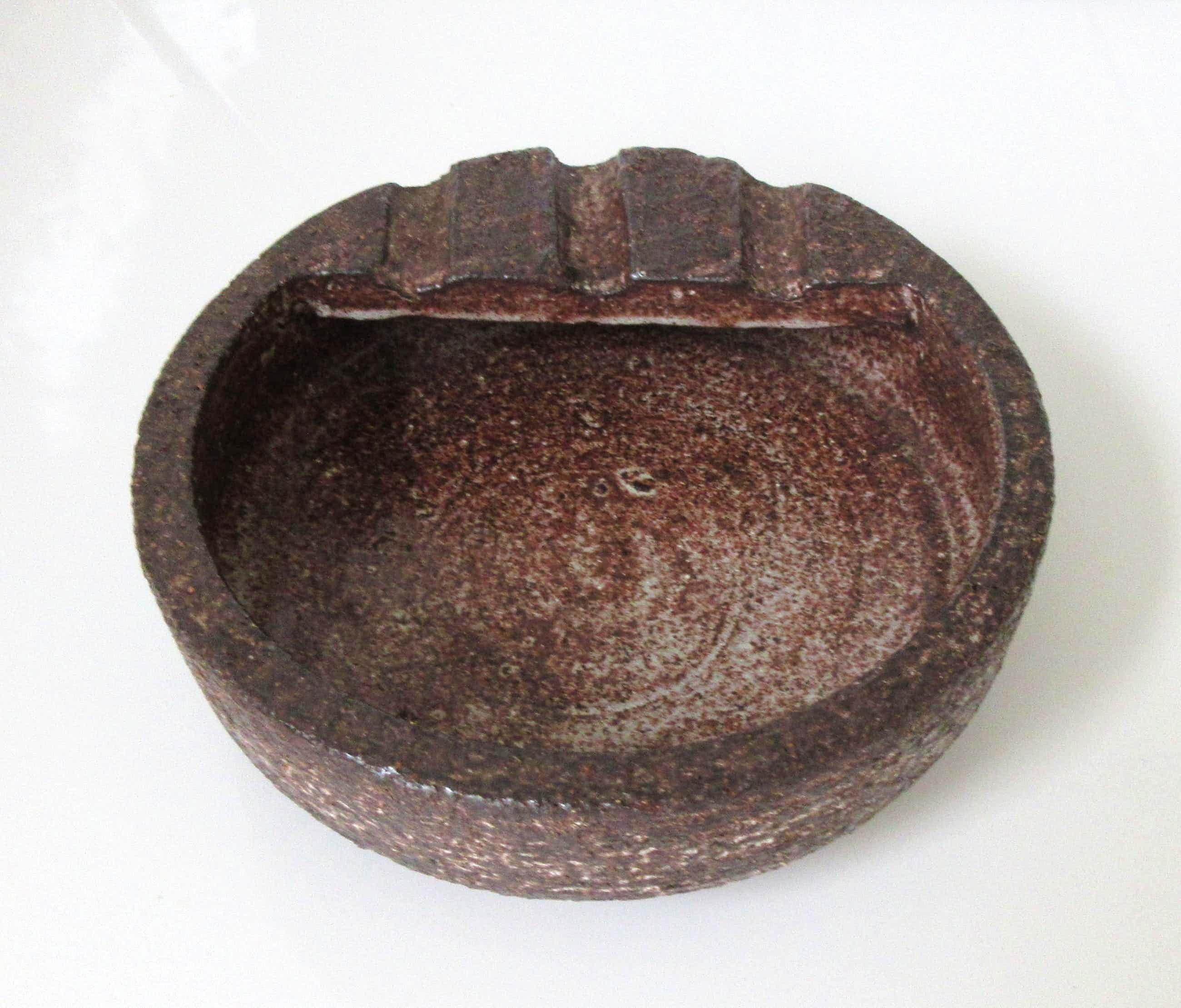 Potterij Zaalberg - Grote ronde asbak kopen? Bied vanaf 10!