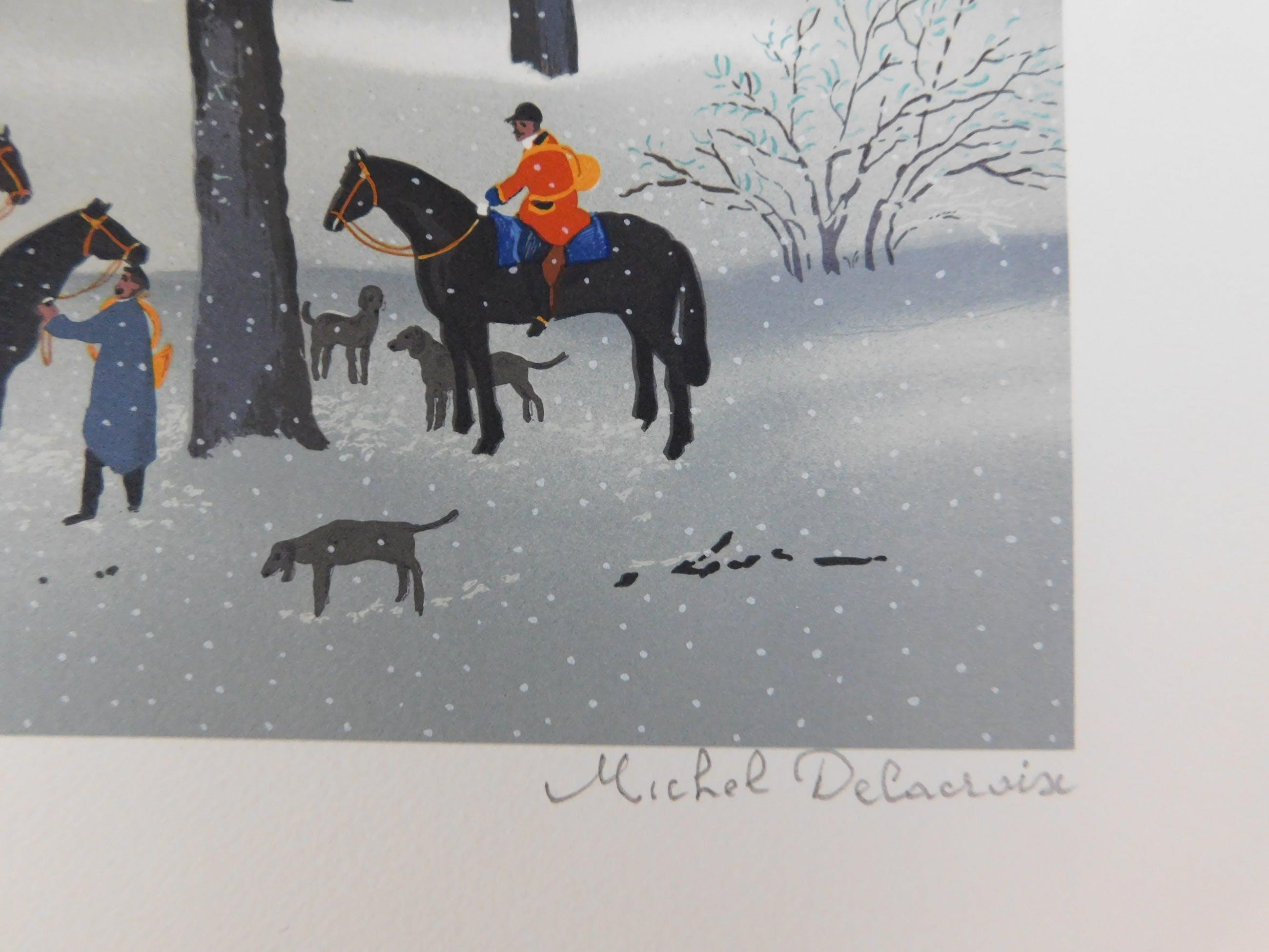 Michel Delacroix - La Chasse d'Hiver kopen? Bied vanaf 40!