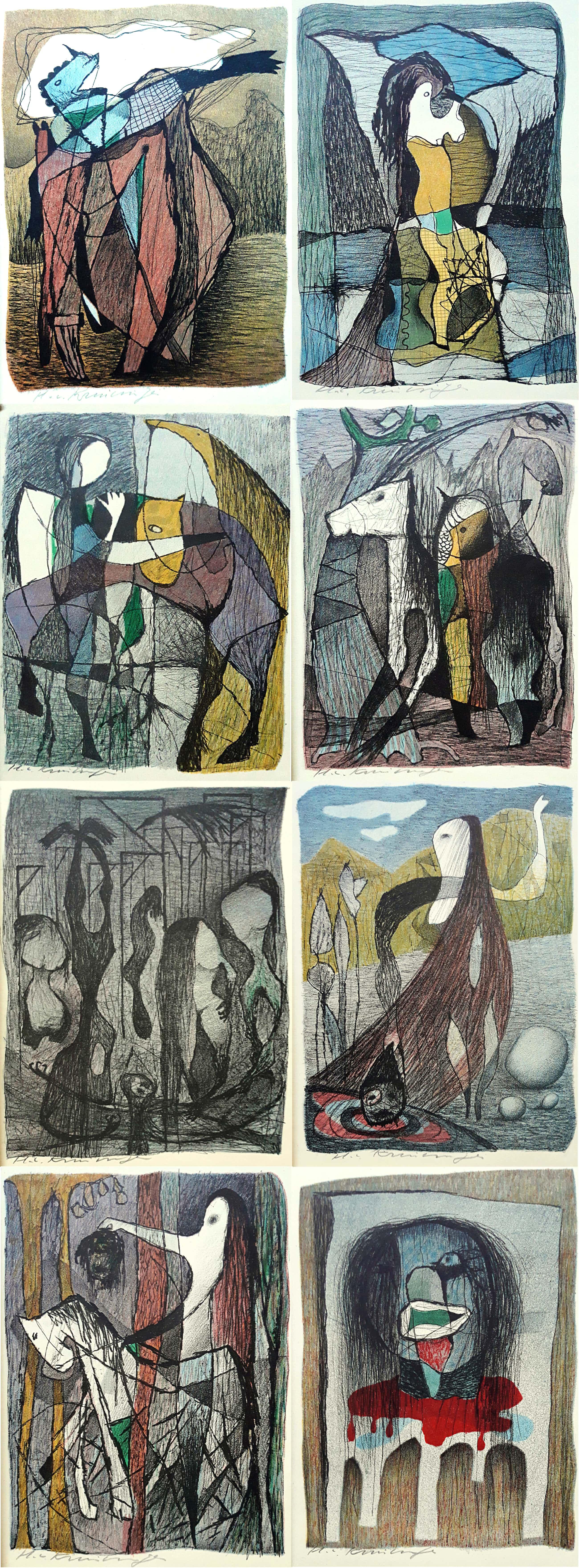 Harry van Kruiningen - Het lied van Heer Halewijn, volledige uitgave met 8 kleurenlitho's kopen? Bied vanaf 250!