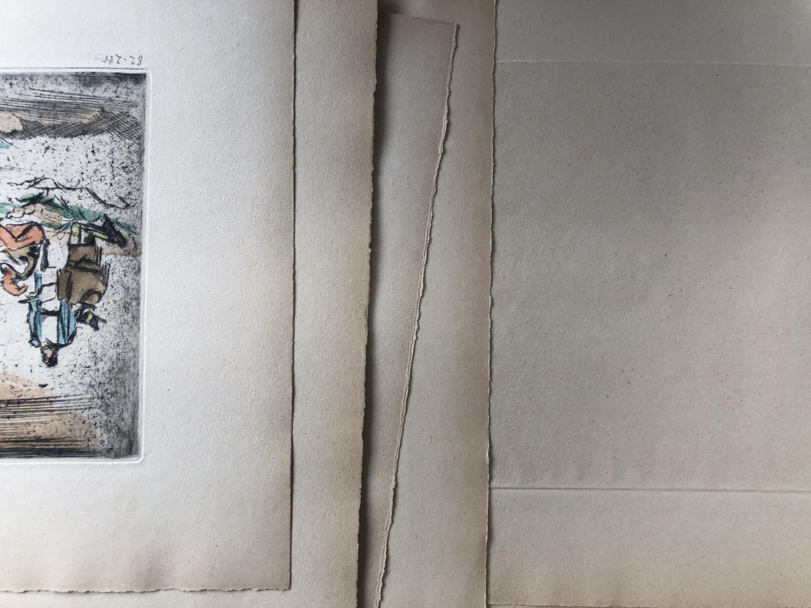 Georg Walter Rössner - Georg Walter Rössner Die Belagerung von Uexlingen Mappe mit 11 sign.Radierungen kopen? Bied vanaf 850!