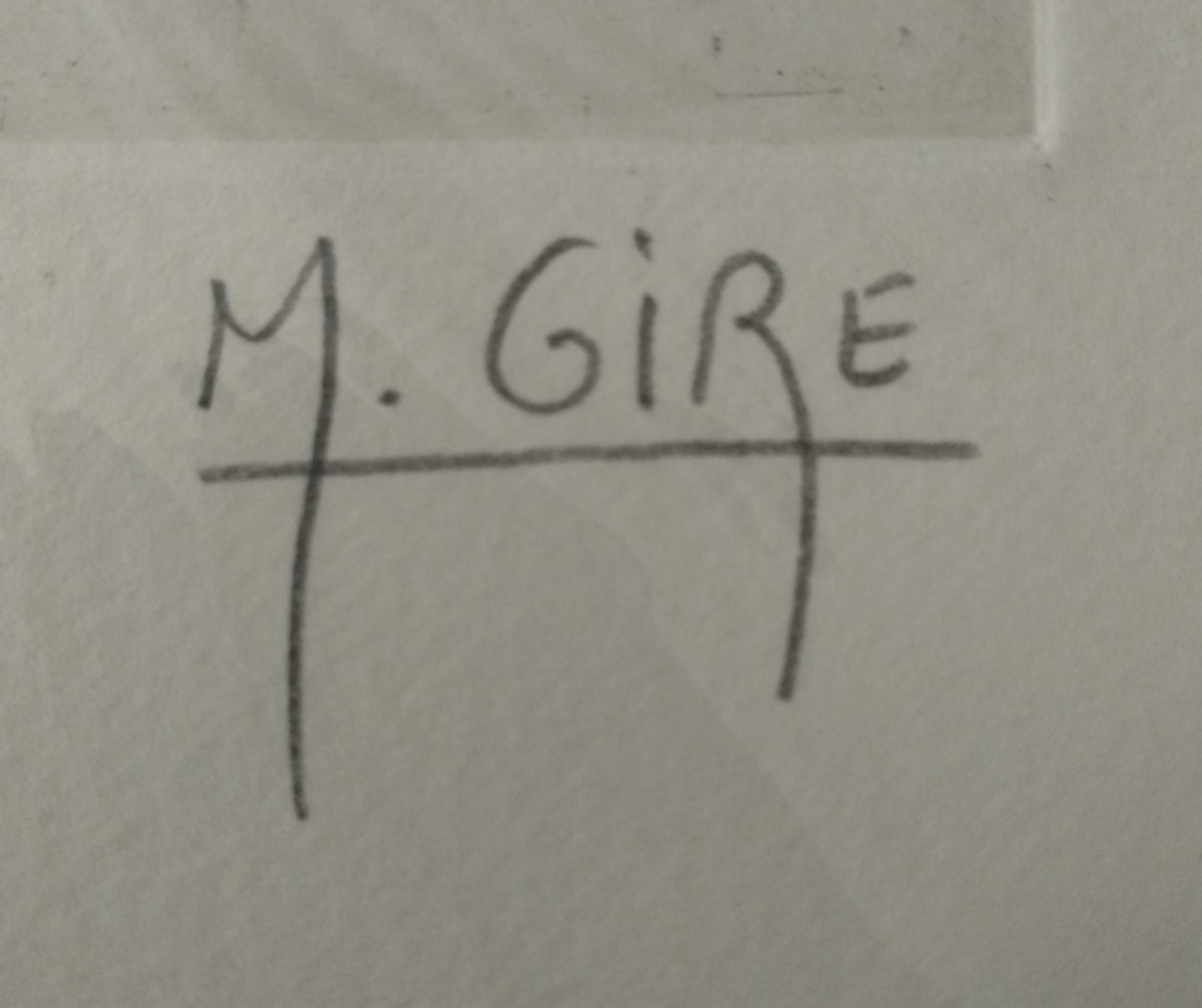 Muriel GirÈ - Orage, Farbradierung kopen? Bied vanaf 85!