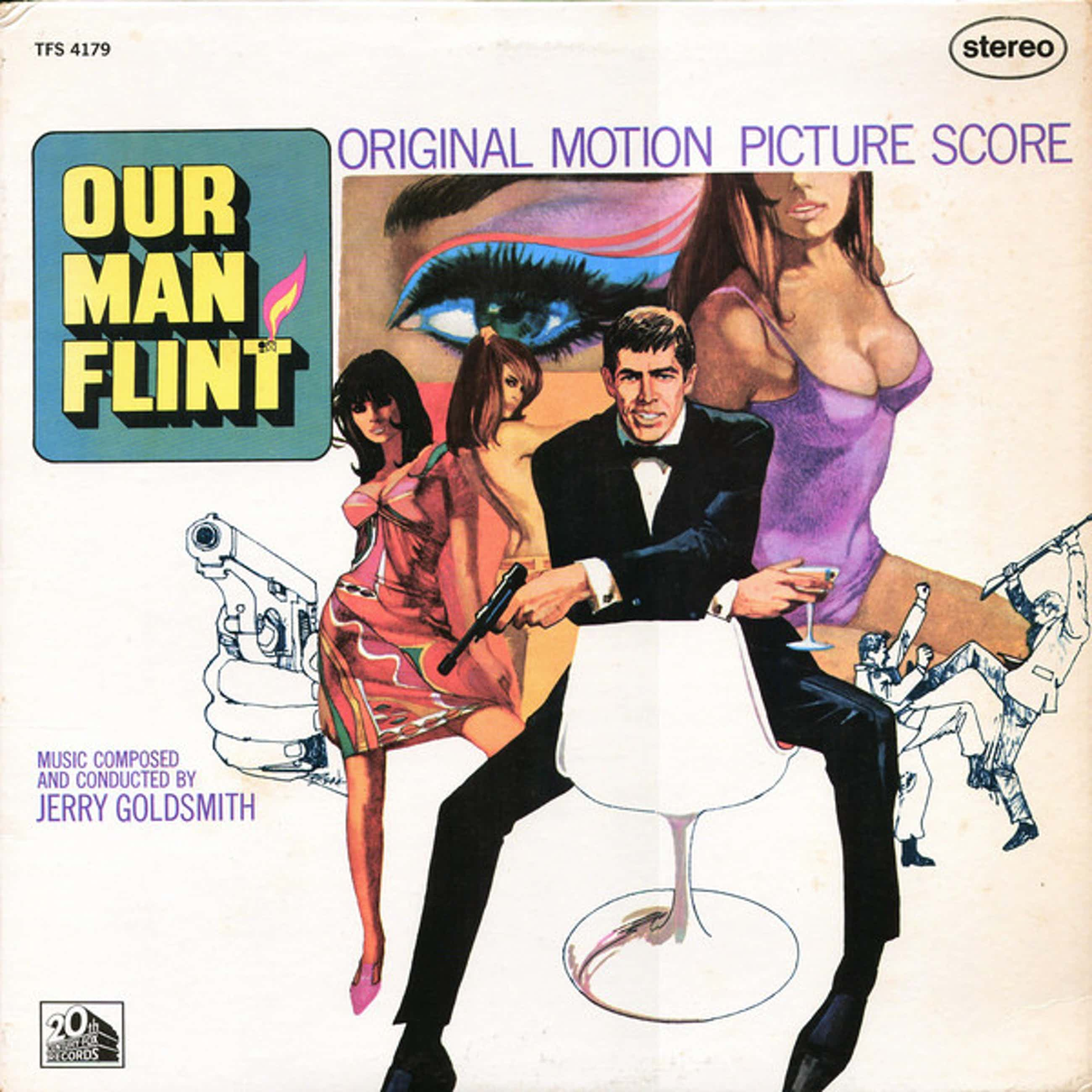 Various artists - Lot van twee lps: Our man Flint, the 25th hour kopen? Bied vanaf 10!
