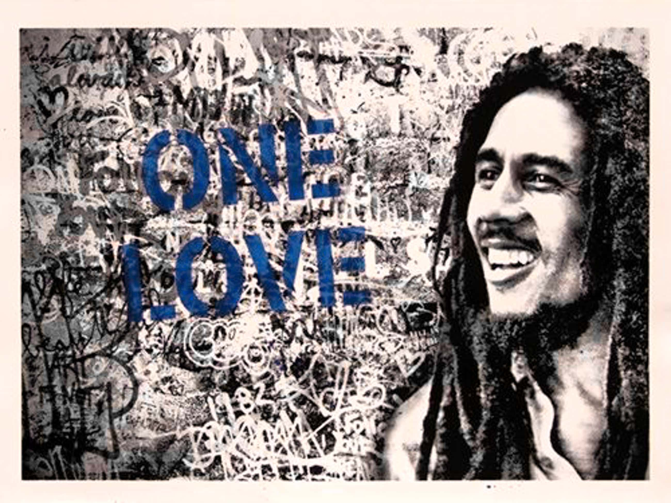 Mr. Brainwash - Happy Birthday Bob Marley kopen? Bied vanaf 700!