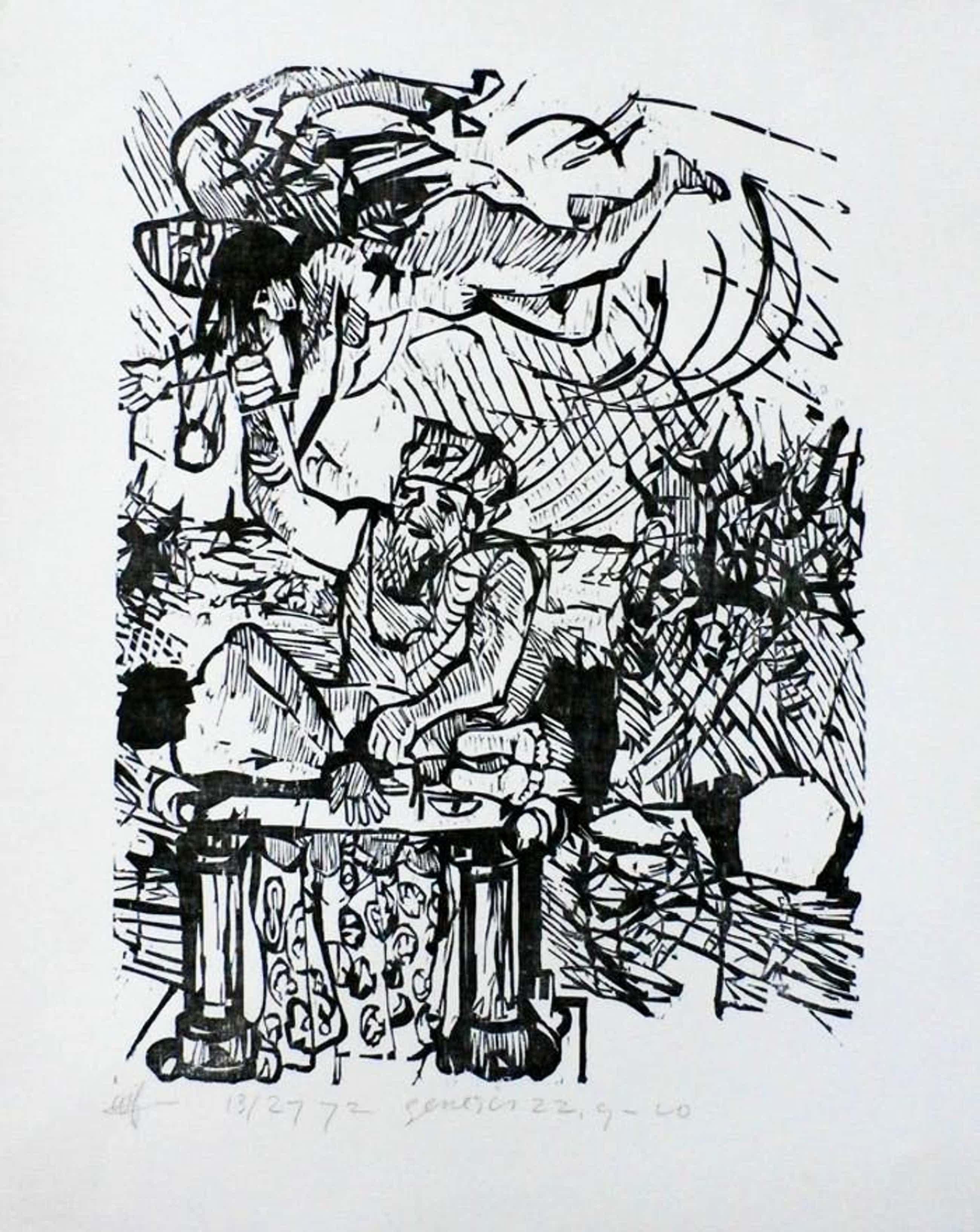 Grafisch Gezelschap de Luis - Litho: Genesis - 1972 kopen? Bied vanaf 45!