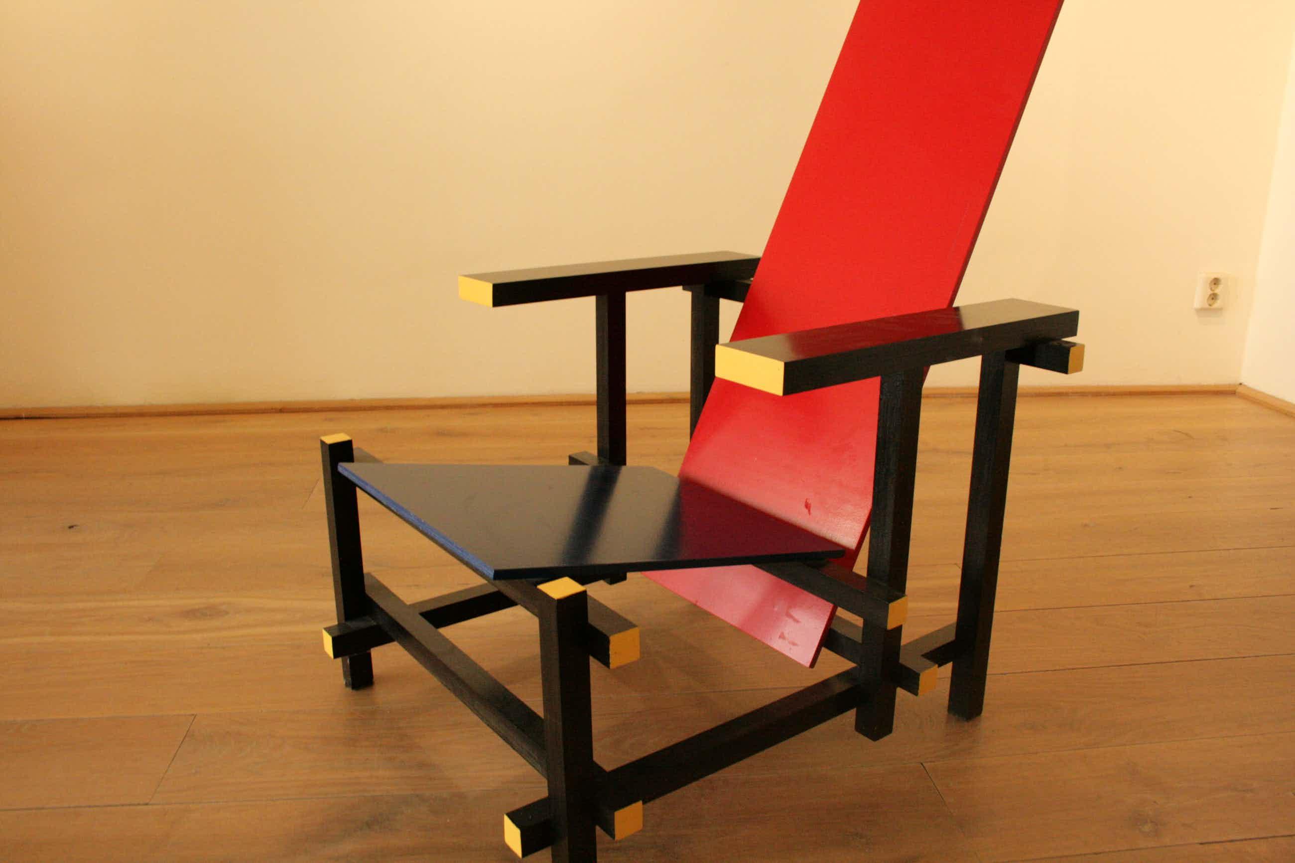 Gerrit Rietveld - design stoel kopen? Bied vanaf 325!