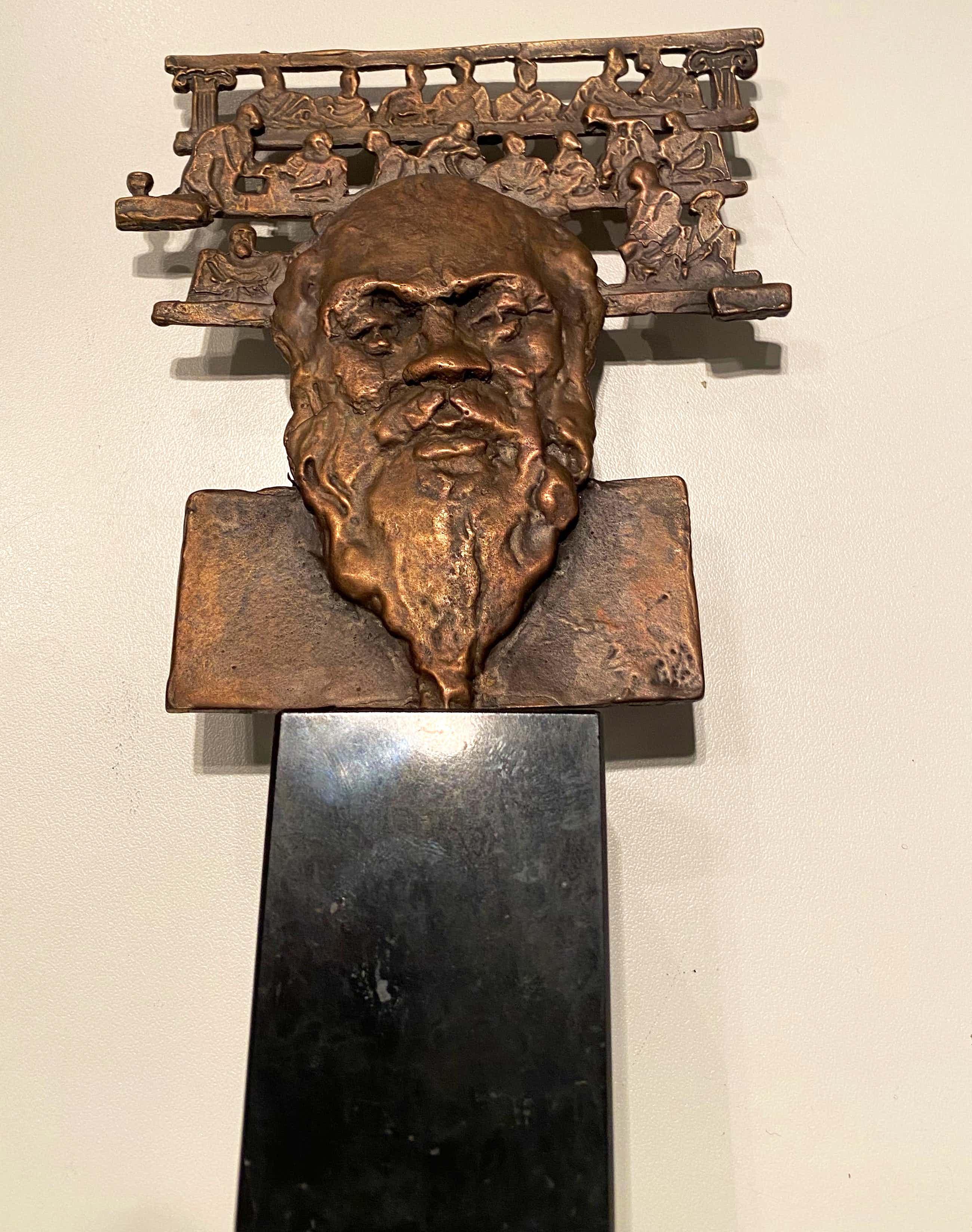 Eric Claus - Socrates filosoof met gifbeker kopen? Bied vanaf 200!