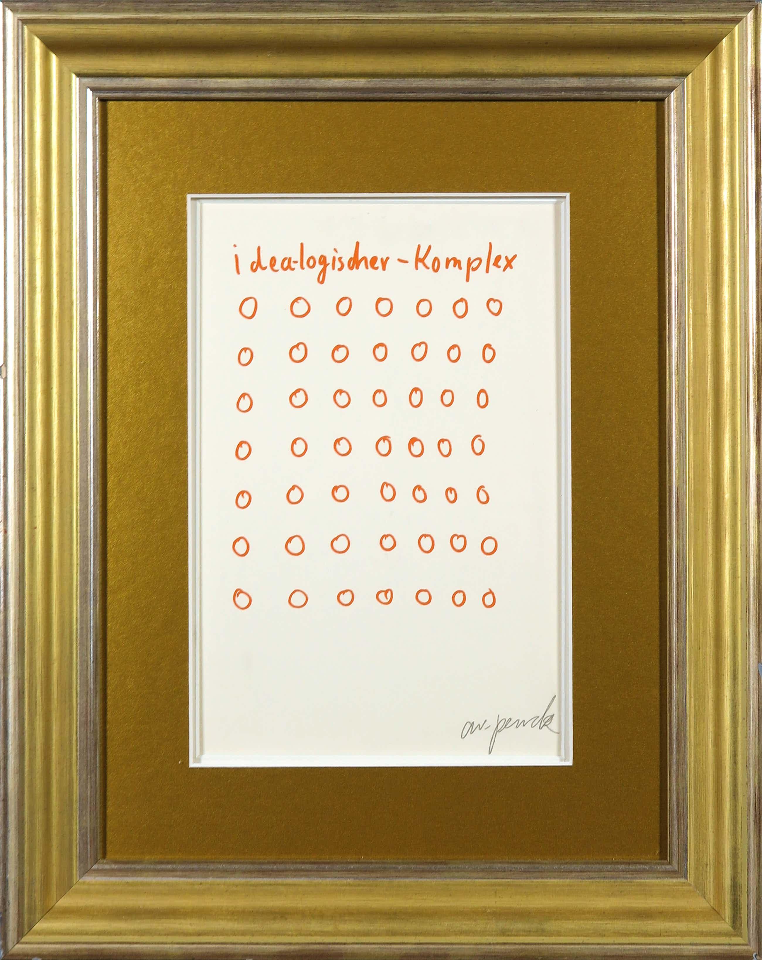 A.R. Penck - Zeldzame, handgesigneerde litho, Idea-logischer-Komplex kopen? Bied vanaf 190!