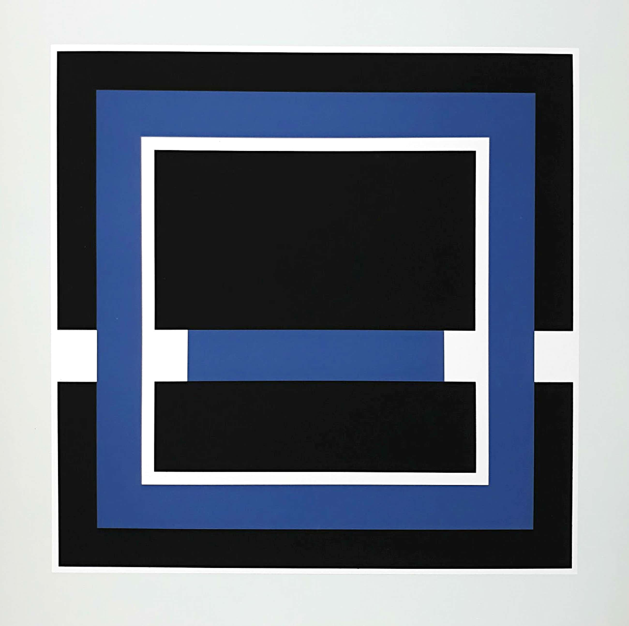 Gilbert Decock - Geometrisch abstracte compositie, zeefdruk (laatste keer!) kopen? Bied vanaf 160!