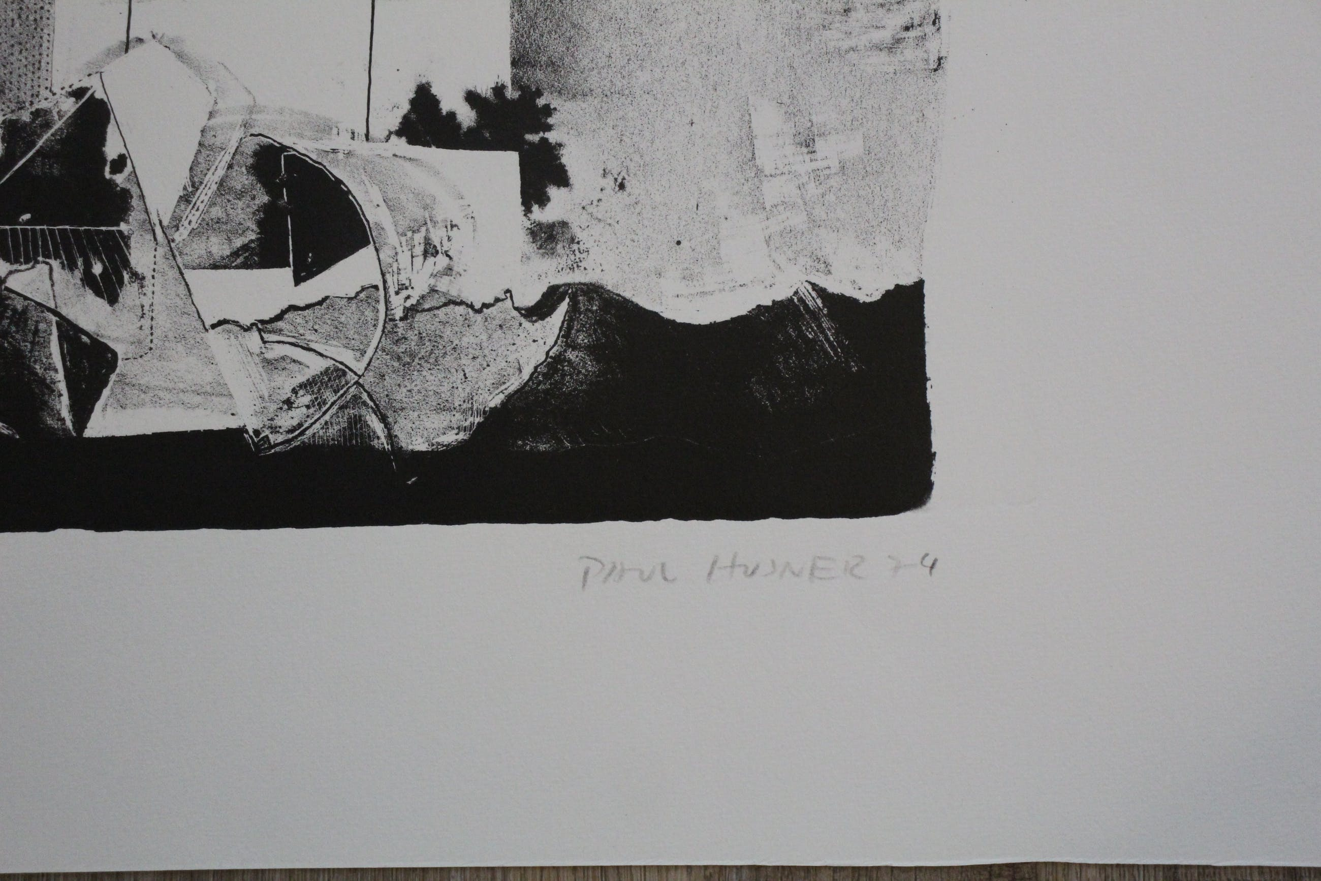 Paul Husner - Litho: 1974 kopen? Bied vanaf 45!