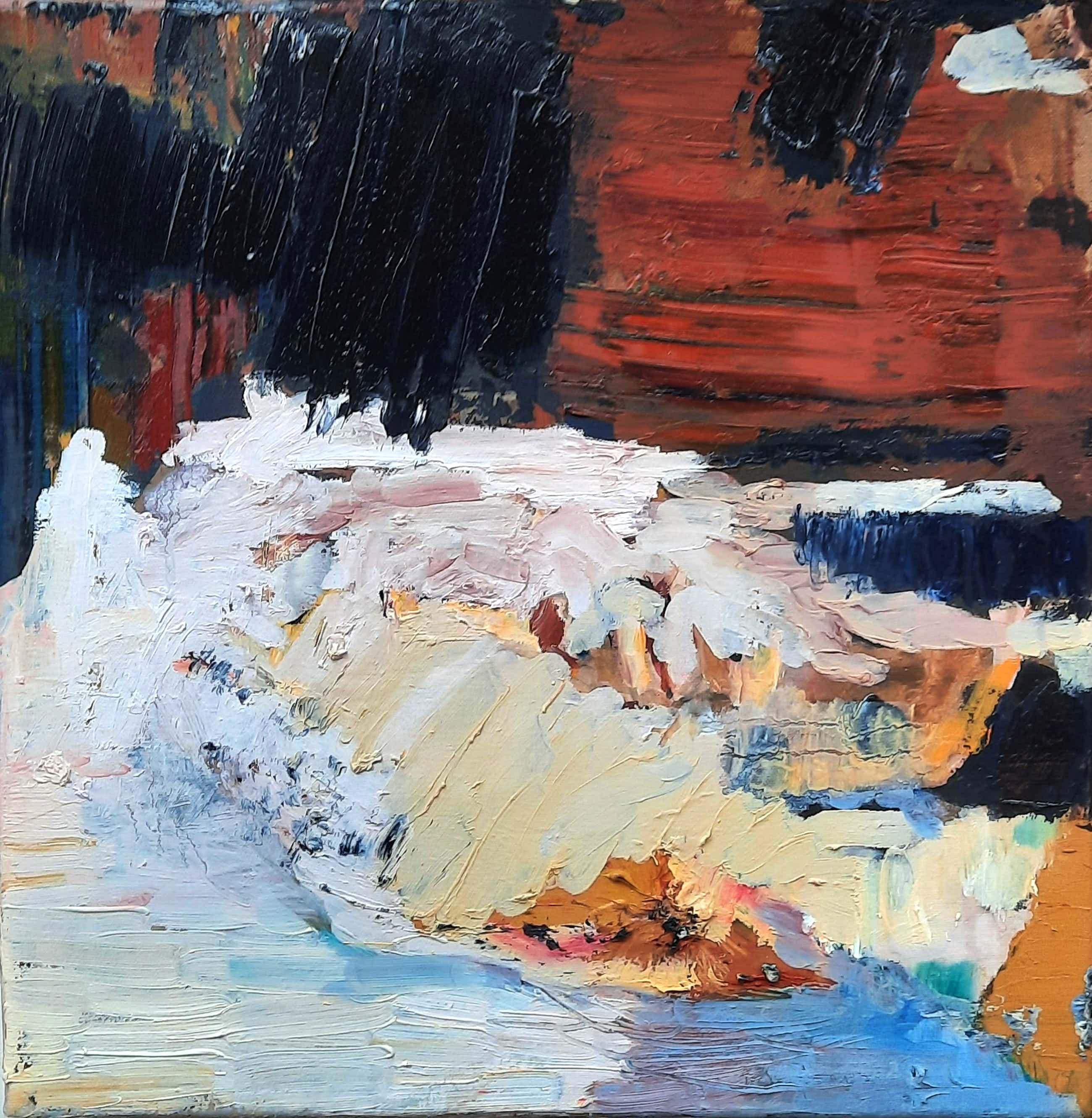 Irene van den Bos - Abstract Landscape kopen? Bied vanaf 75!
