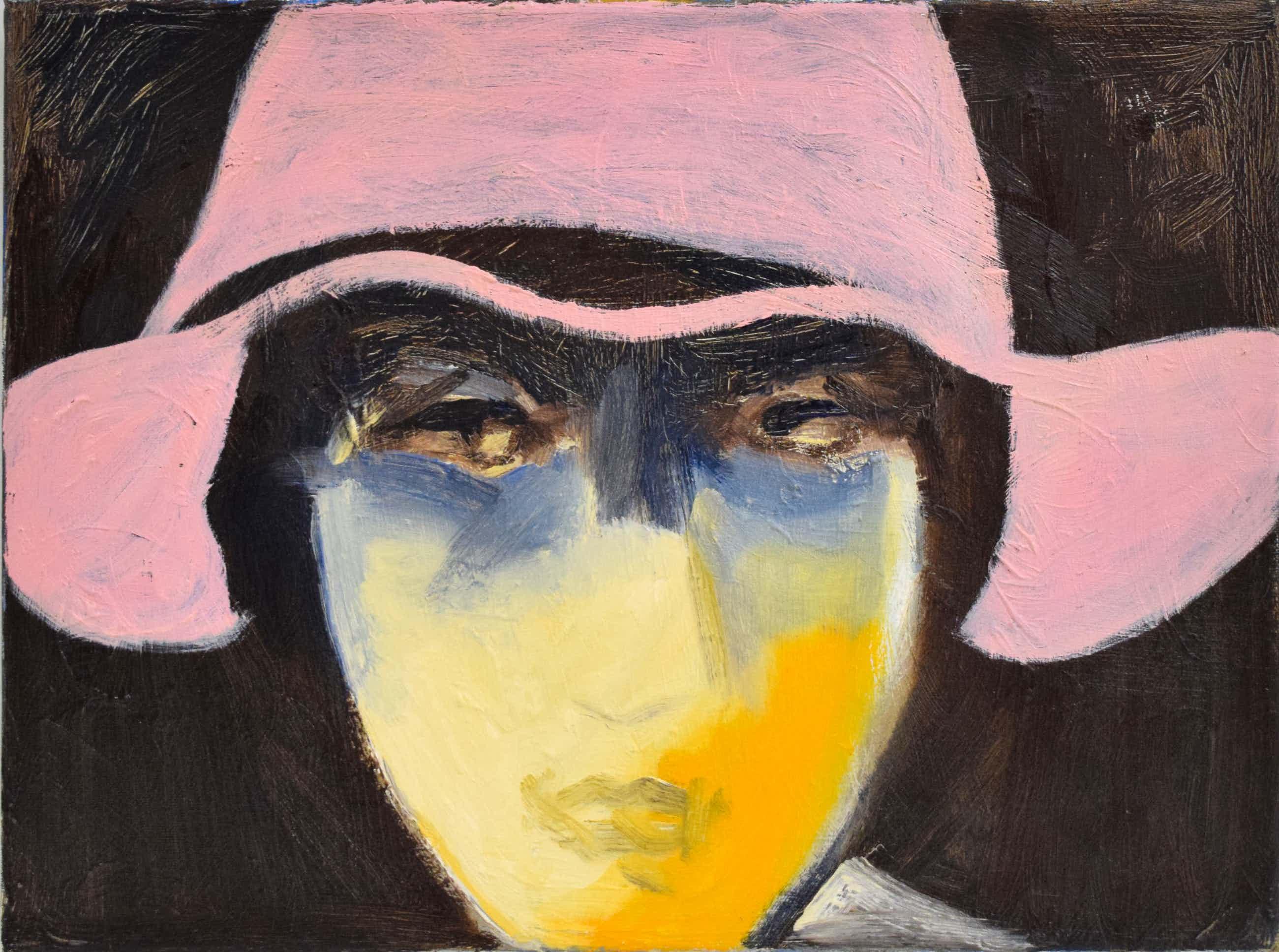 Egbert Visscher - Portret Dame met rode hoed kopen? Bied vanaf 1!