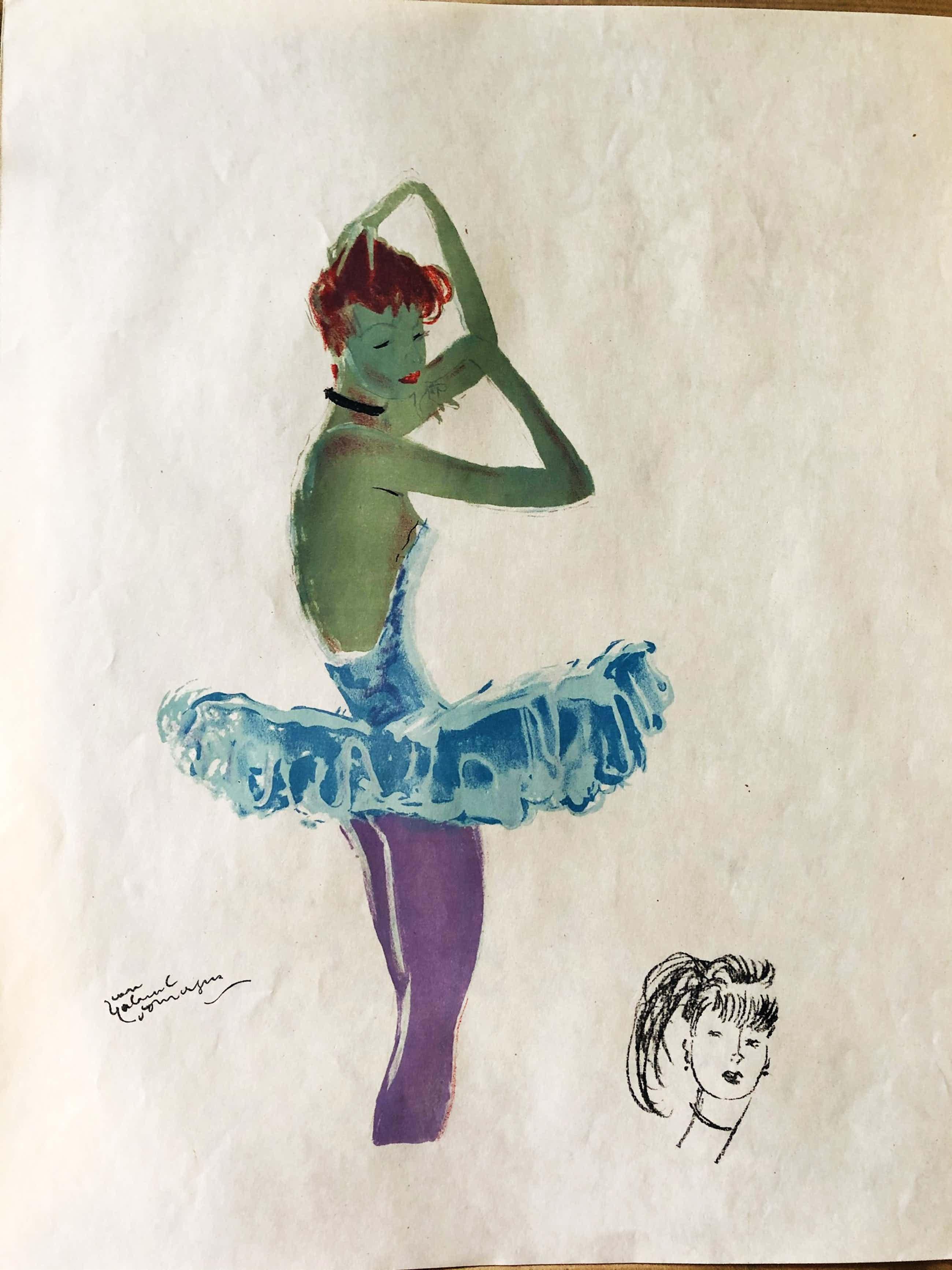 Jean-Gabriel Domergue - La Parisienne, 1956 kopen? Bied vanaf 250!