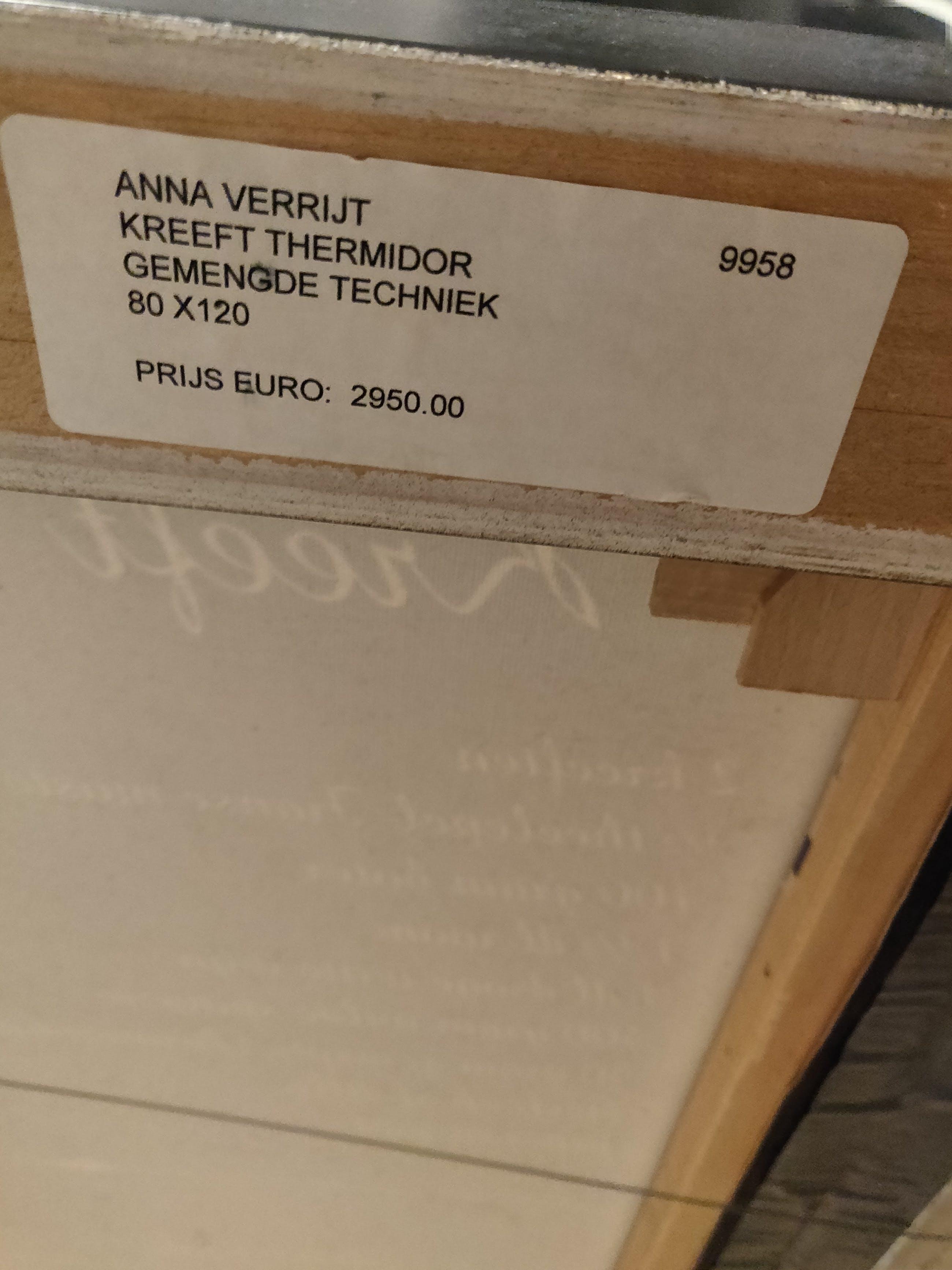 Anna Verrijt - Kreeft Thermidor kopen? Bied vanaf 2500!
