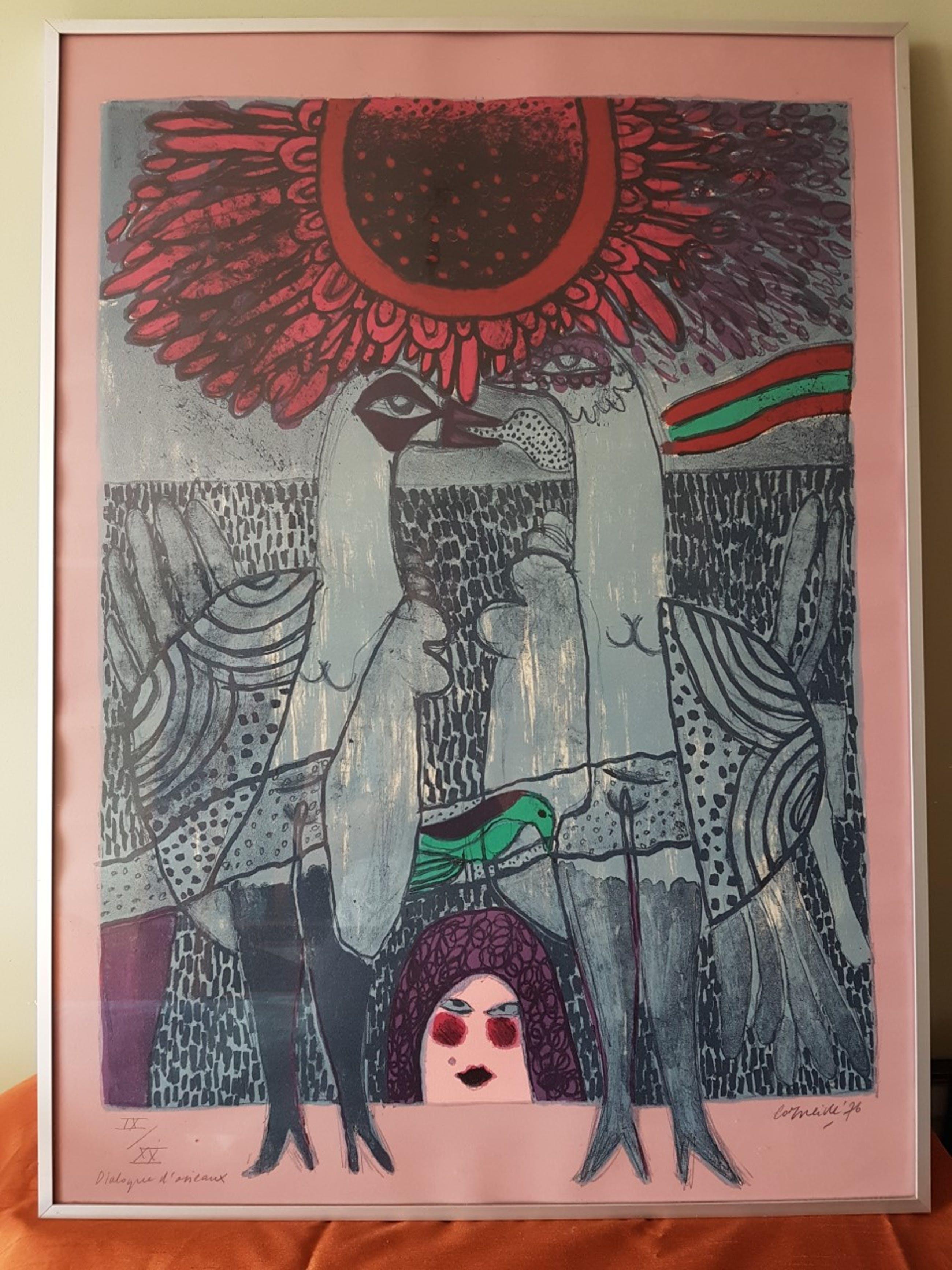 Corneille - 'Dialogue d'oiseaux' 1976 kopen? Bied vanaf 150!