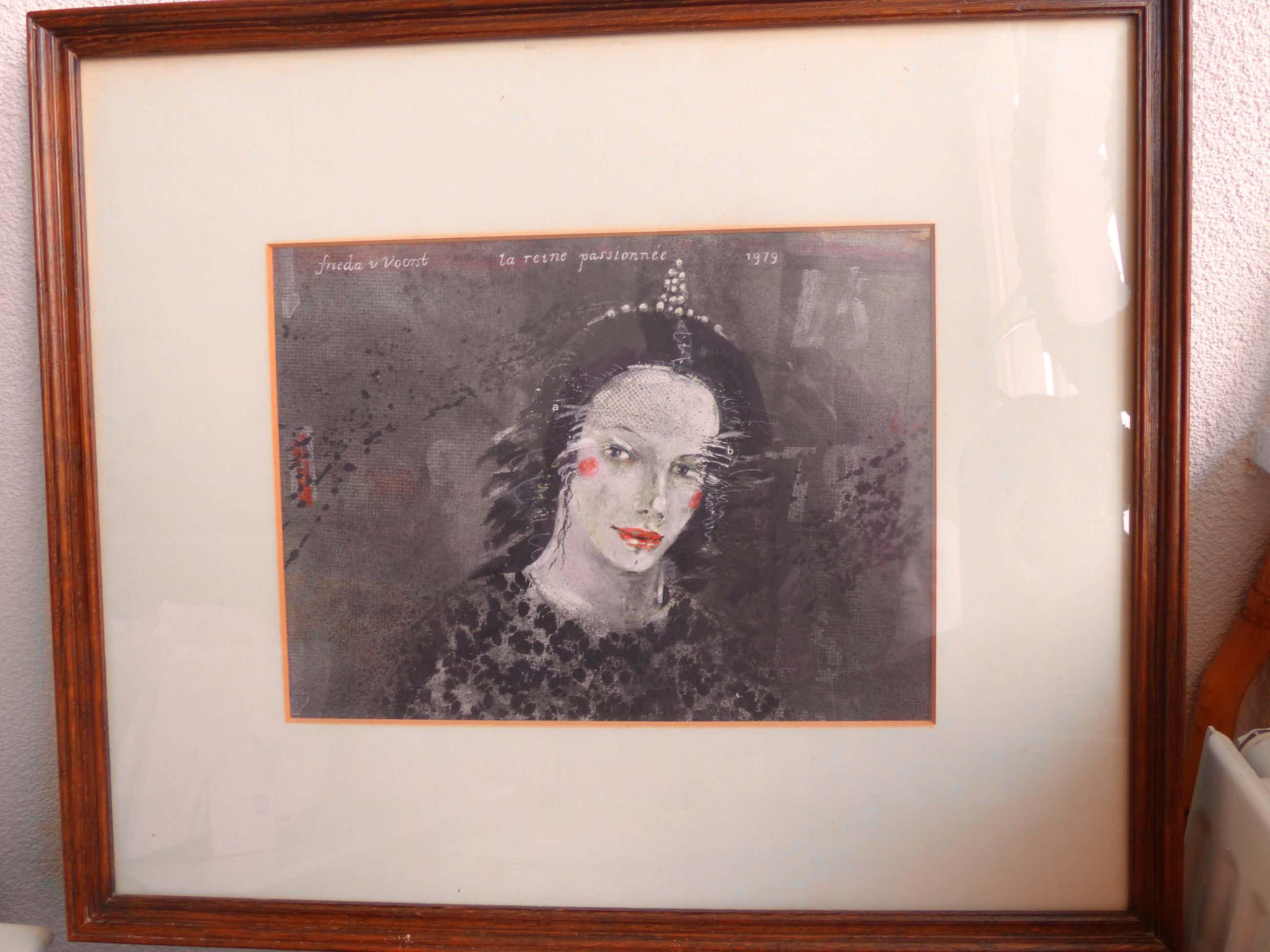 Frieda van Voorst - La reine passionée kopen? Bied vanaf 250!