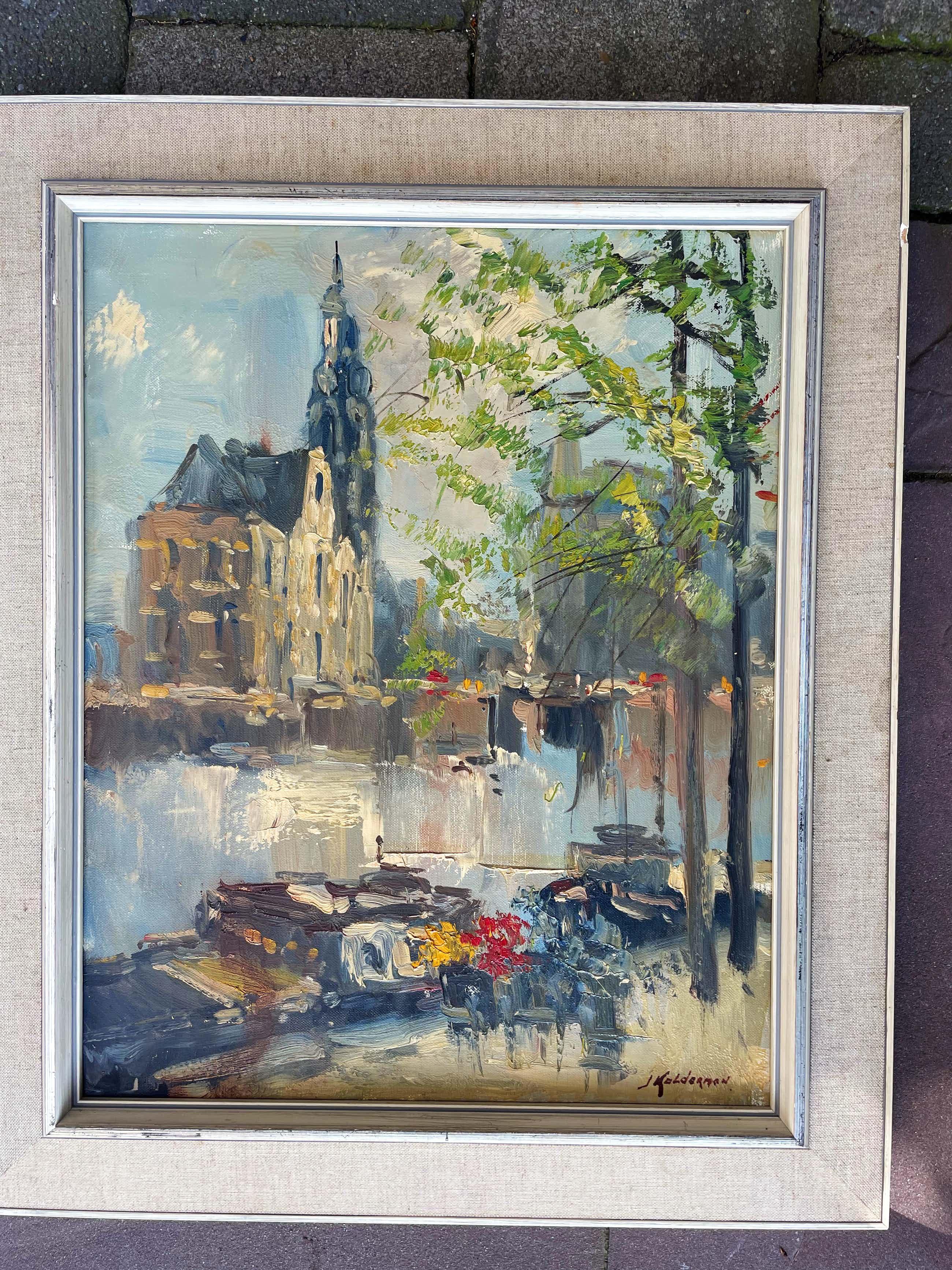 Jan Kelderman - Amsterdam Munttoren kopen? Bied vanaf 60!