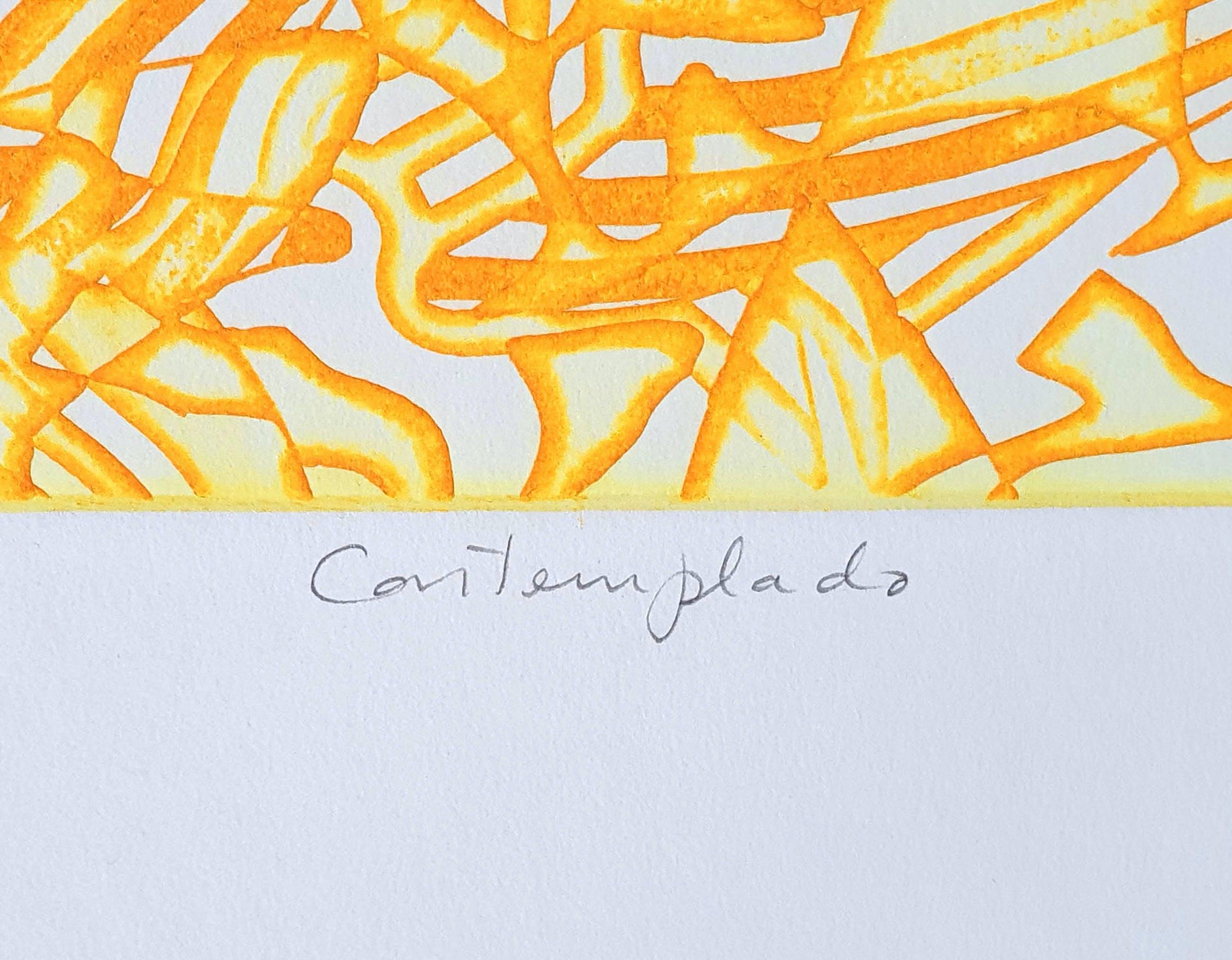 Hector Saunier - Ets: 'Contemplado' - 1970 kopen? Bied vanaf 55!