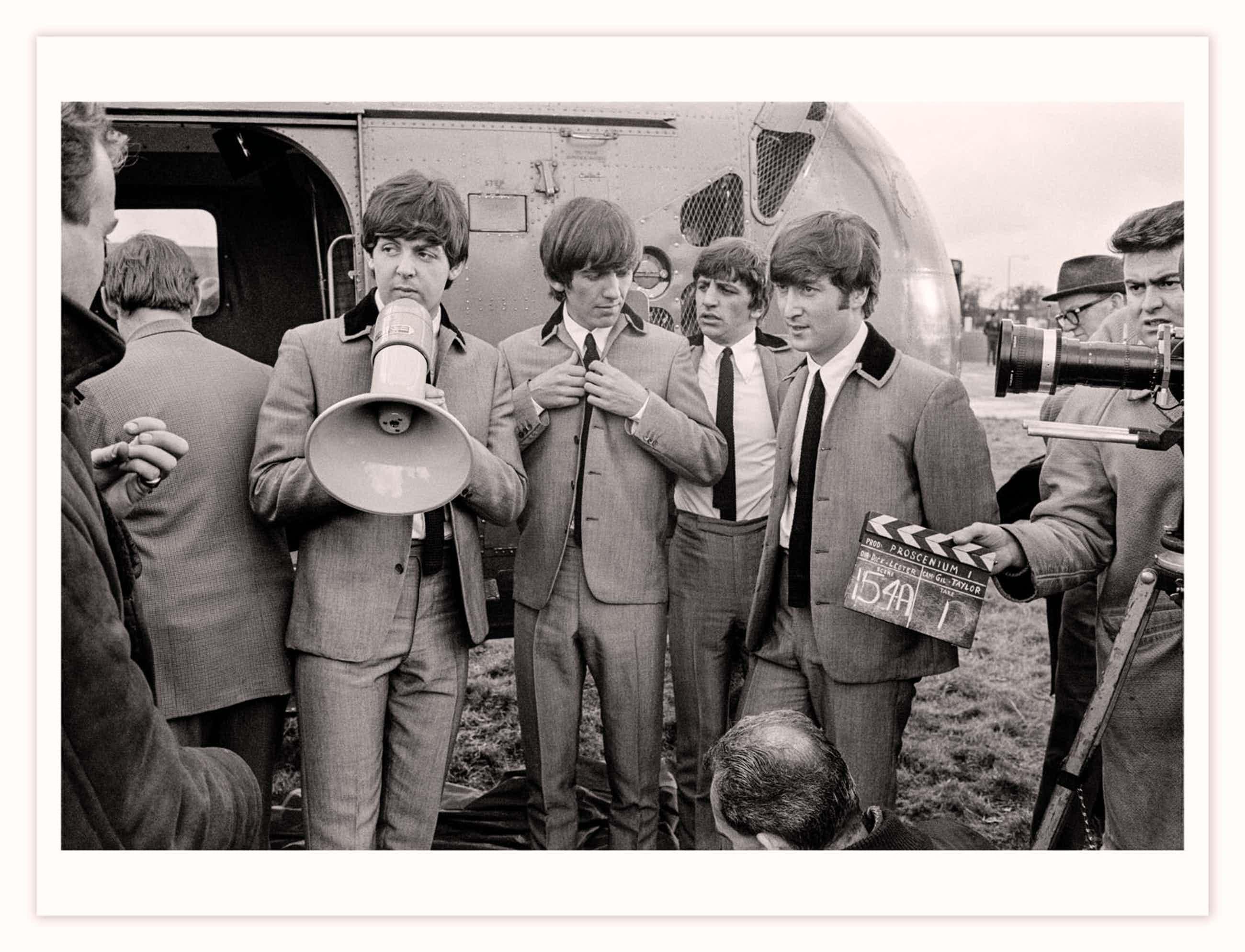 David Hurn - The Beatles - 1964 - Magnum Limited Edition - 200 ex. - Groot kopen? Bied vanaf 435!