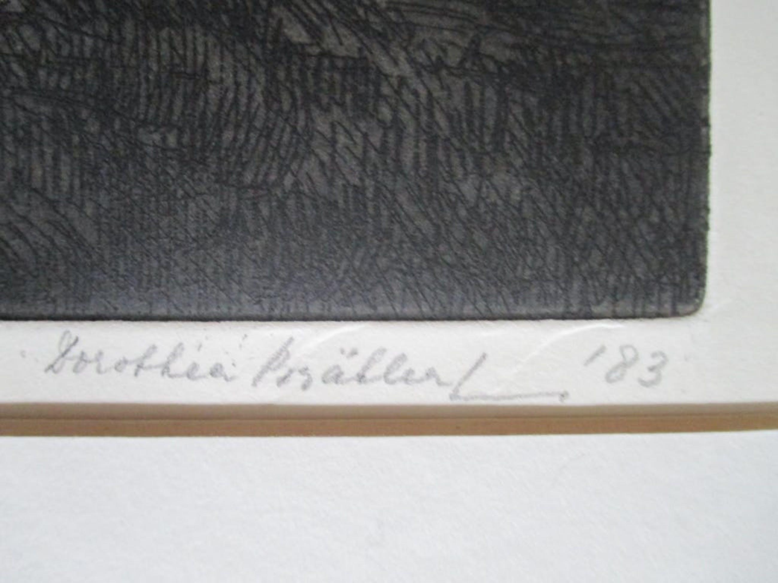 Dorothea Braehler-Kuhnen - ingelijste ets 1983 kopen? Bied vanaf 40!