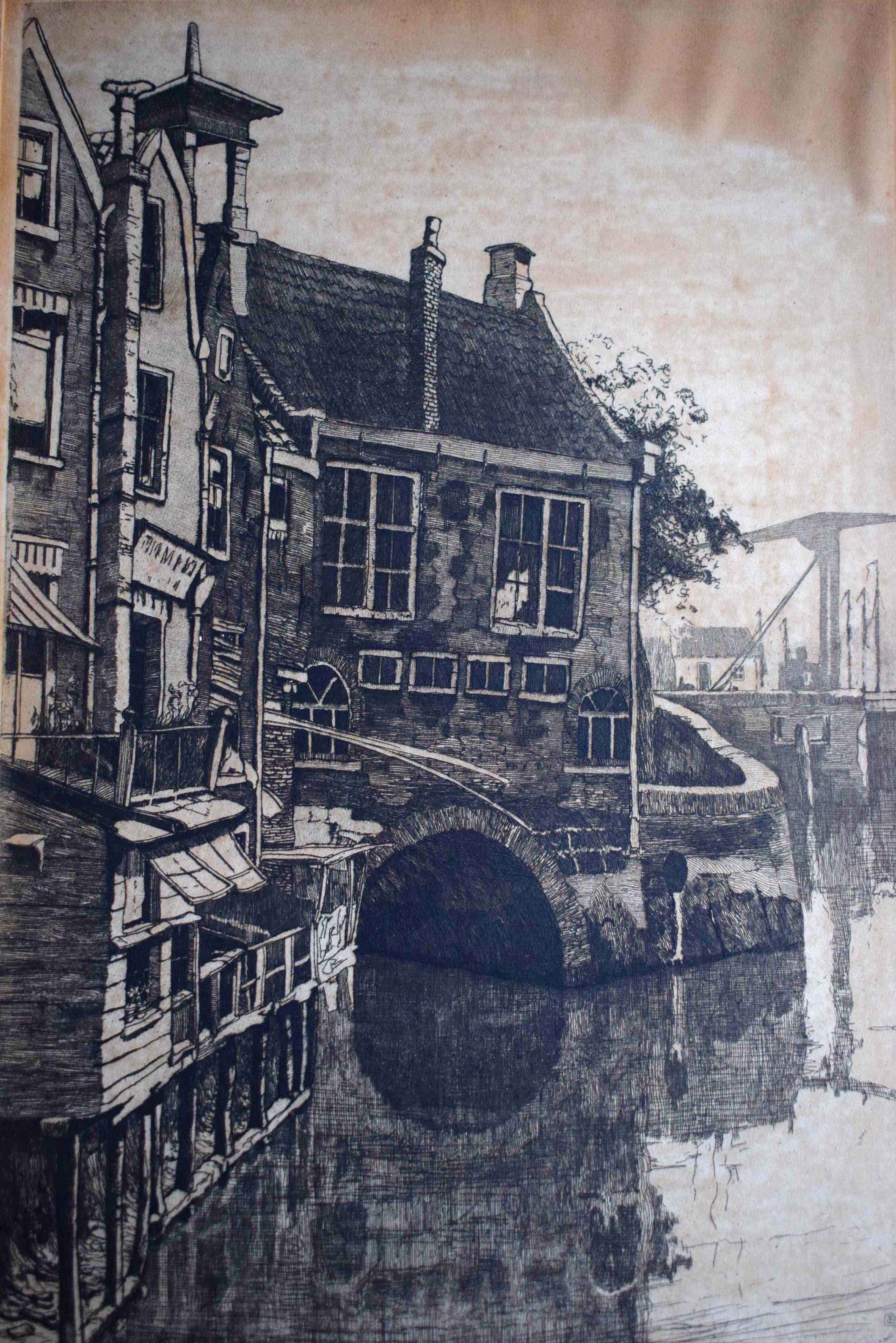 Jan Sirks - Albrechtskolk in Delfshaven - Rotterdam kopen? Bied vanaf 45!