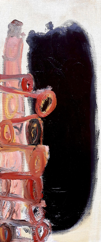 Peter Keizer - Wit in rook, olieverf op doek (ingelijst) kopen? Bied vanaf 295!