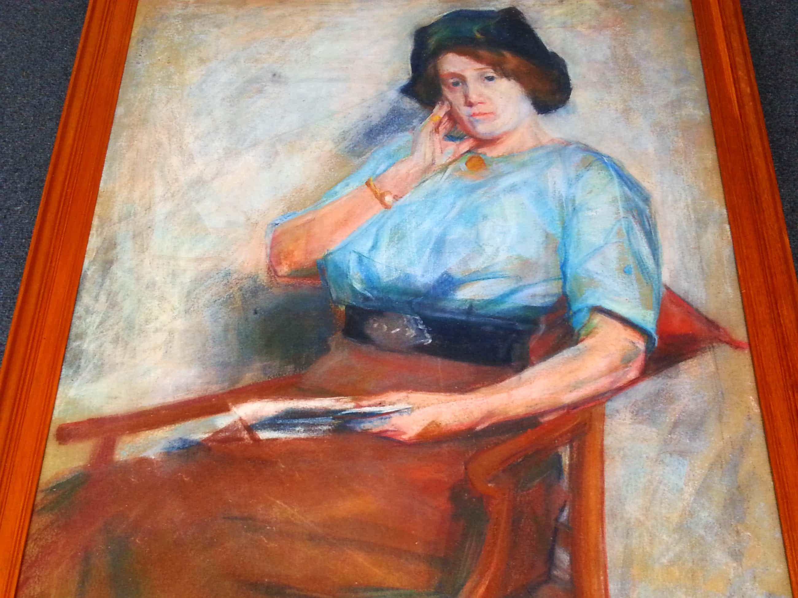 Piet van Wijngaerdt - Portret van een Dame - Gesigneerd kopen? Bied vanaf 280!
