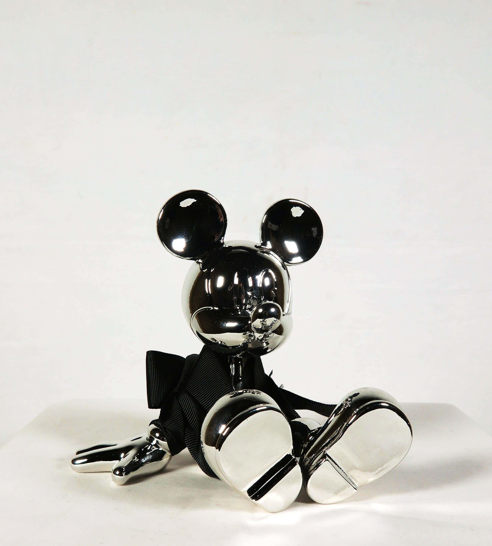 """Marcel Wanders - Disney - Leblon Delienne - """"Sitting Mickey Zilver"""" kopen? Bied vanaf 110!"""