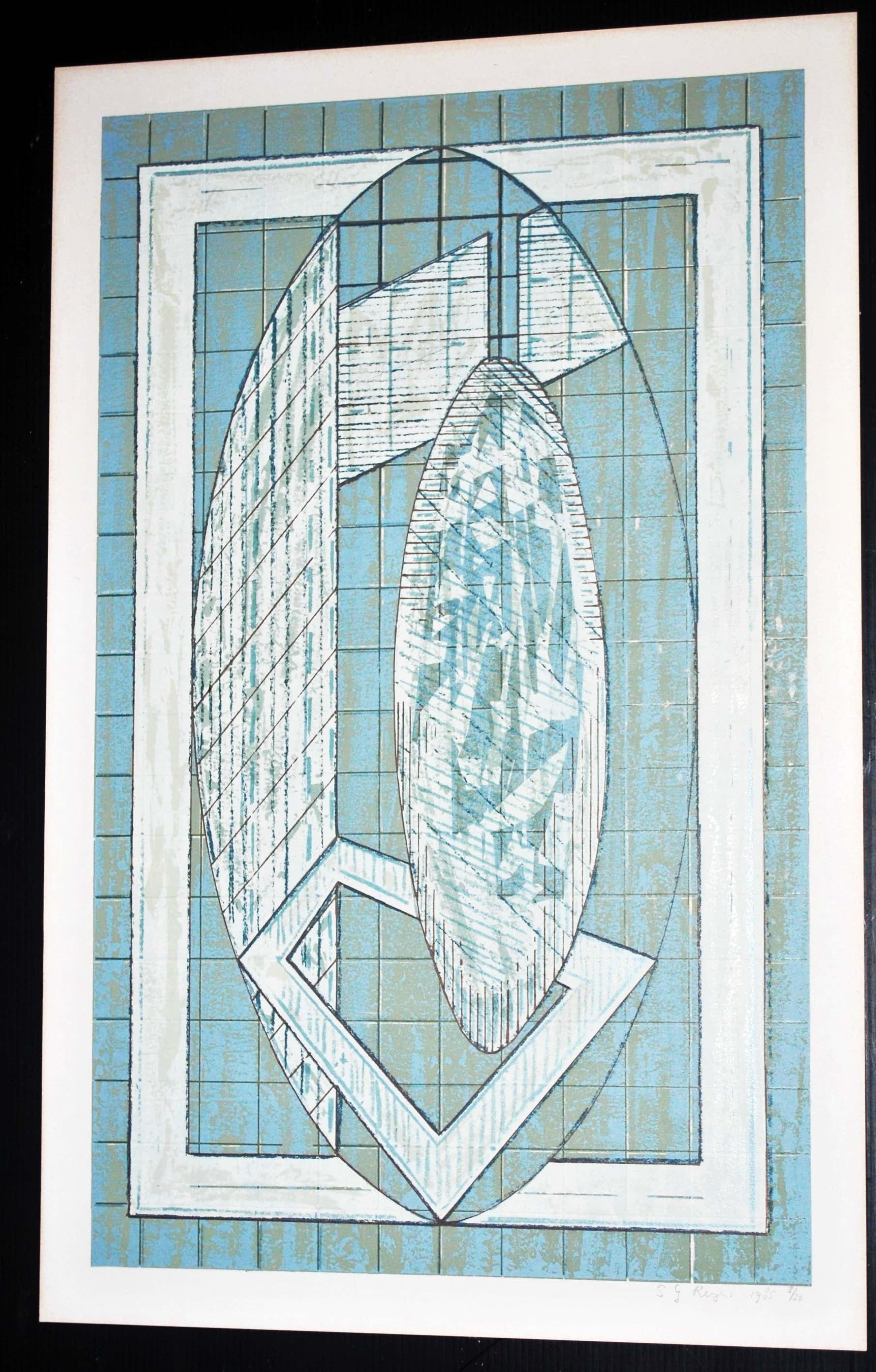 Steven Reyers - Zeefdruk 1985 - oplage: slechts 20 ex. kopen? Bied vanaf 35!