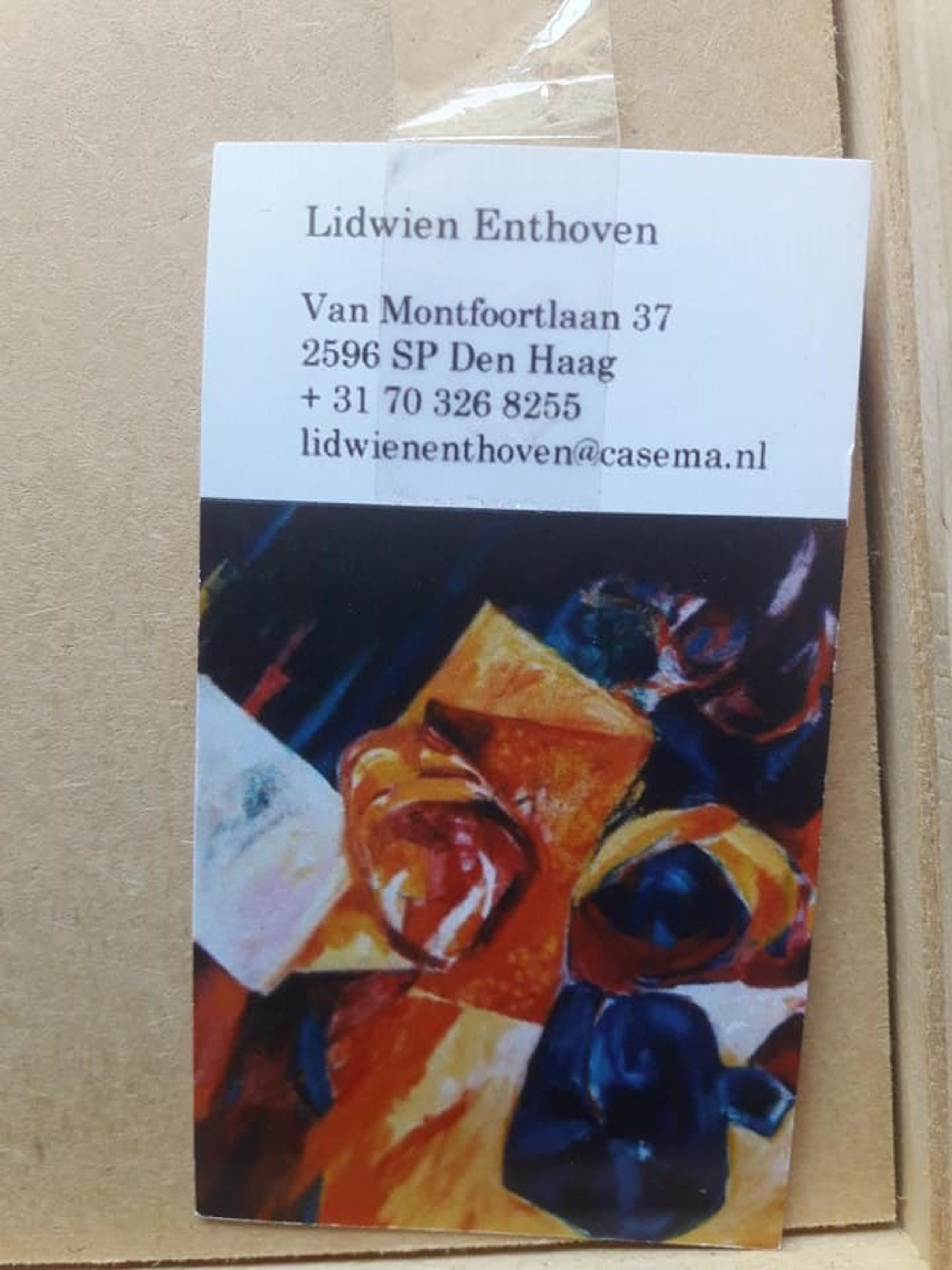 Lidwien Enthoven - Zonder titel. kopen? Bied vanaf 39!