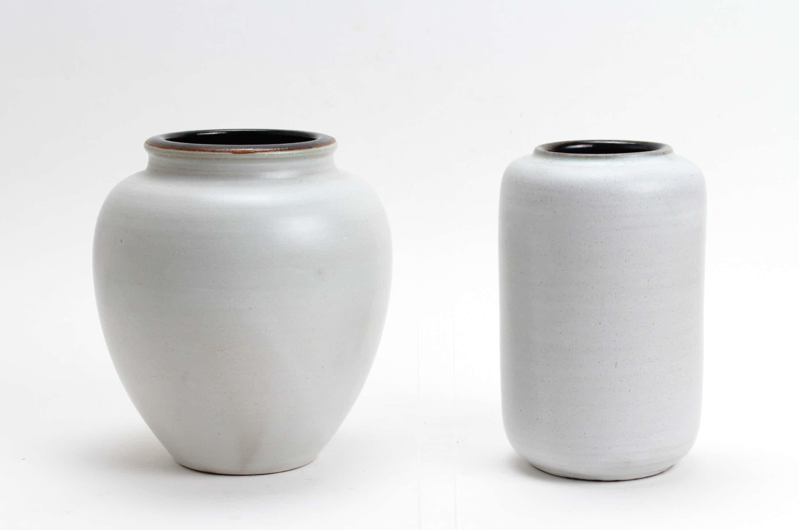 Mobach Keramiek - 2 aardewerk vazen kopen? Bied vanaf 20!