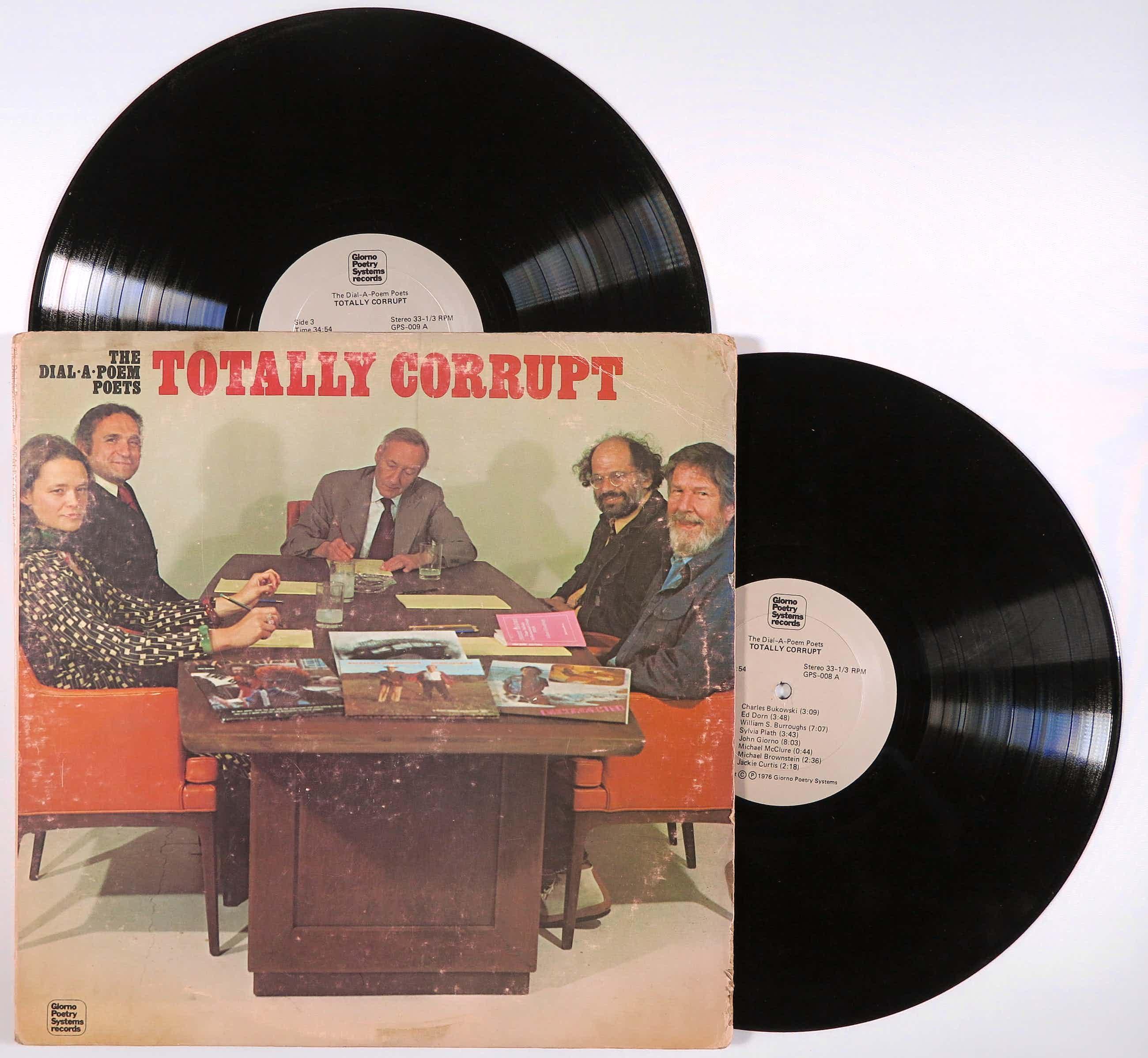 Various artists - 2LP - Totally Corrupt (The Dial-A-Poem Poets) kopen? Bied vanaf 35!